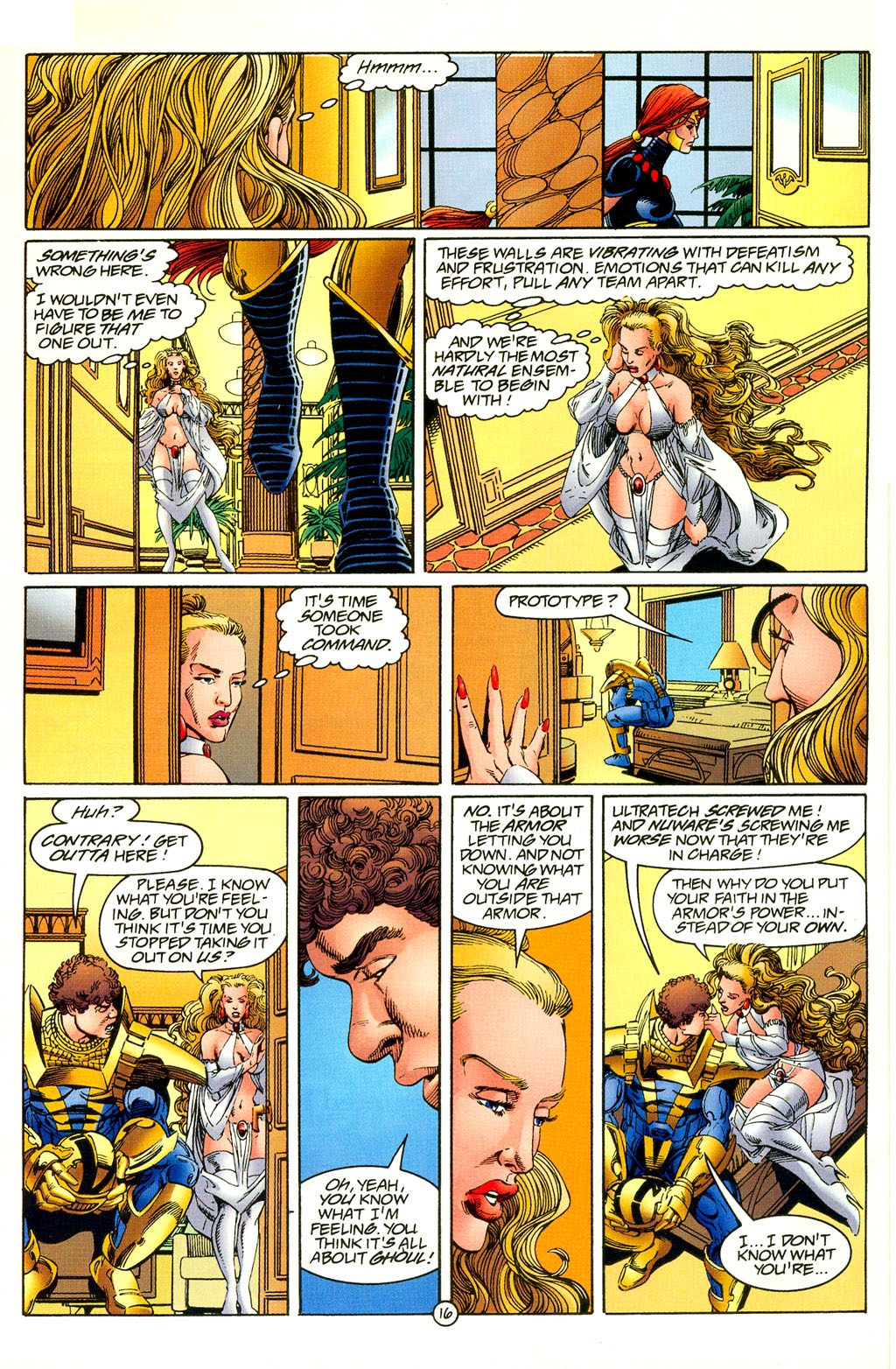 Read online UltraForce (1994) comic -  Issue #4 - 16