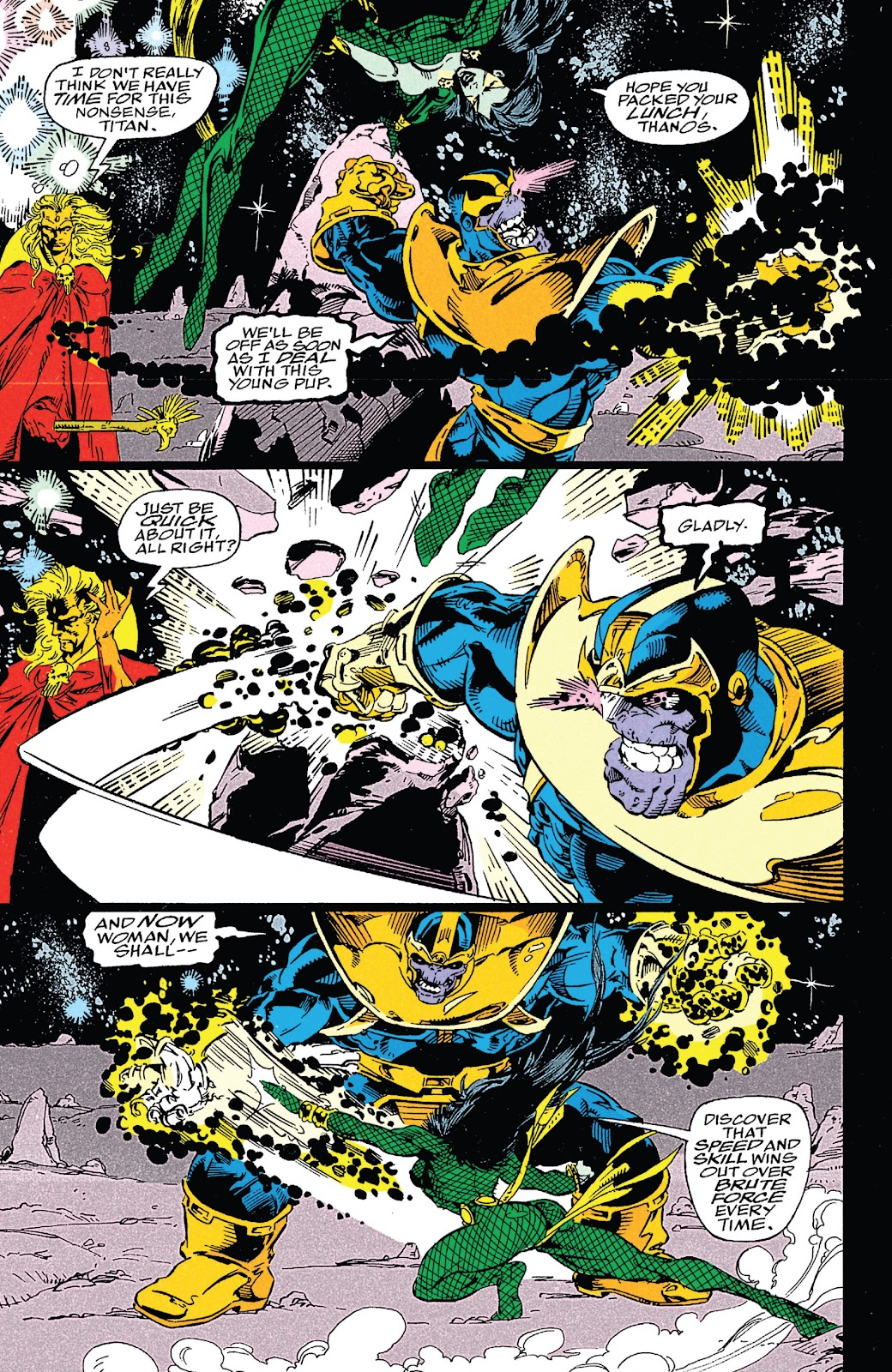 Read online Marvel Tales: Thanos comic -  Issue # Full - 64