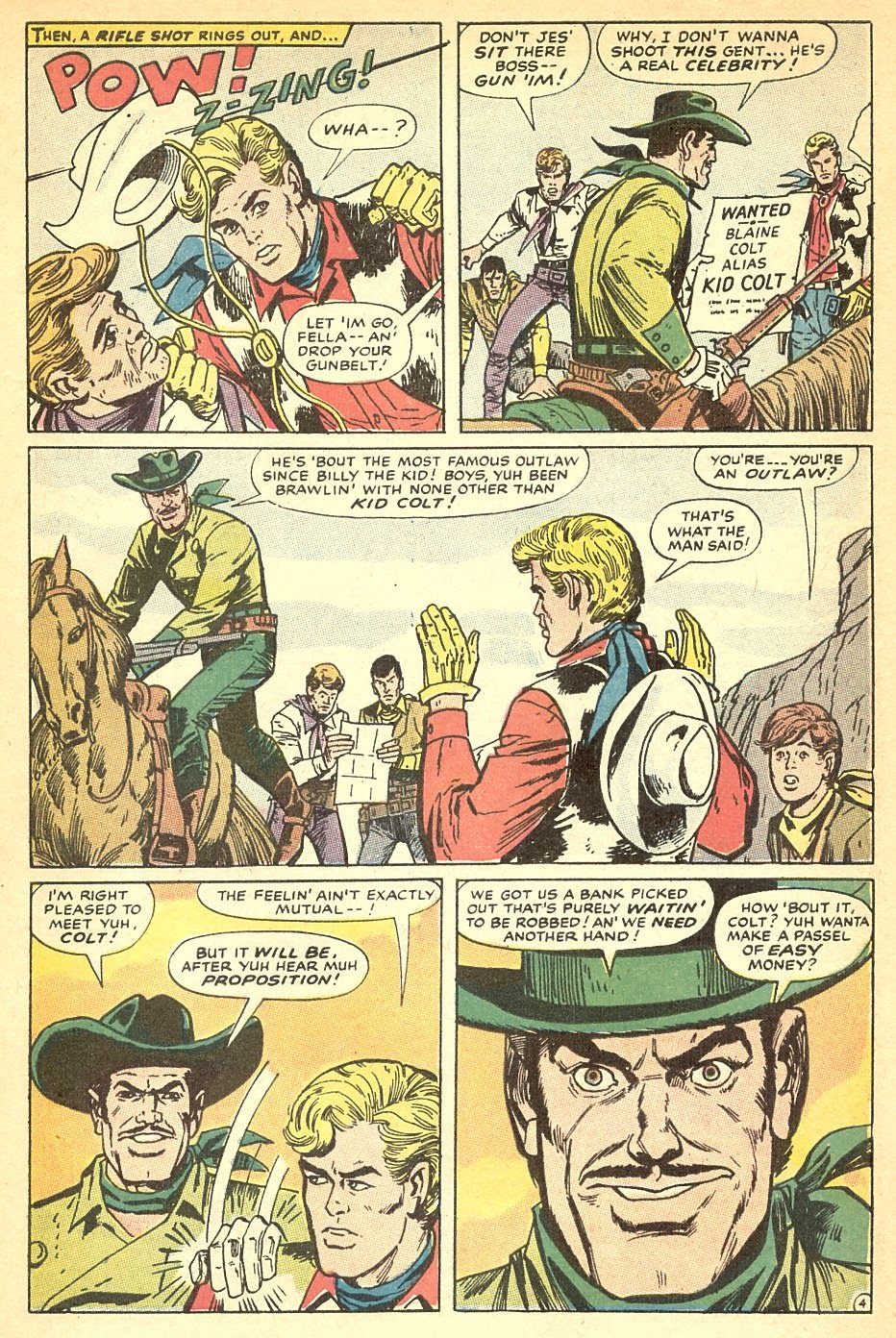 Kid Colt Outlaw issue 140 - Page 7