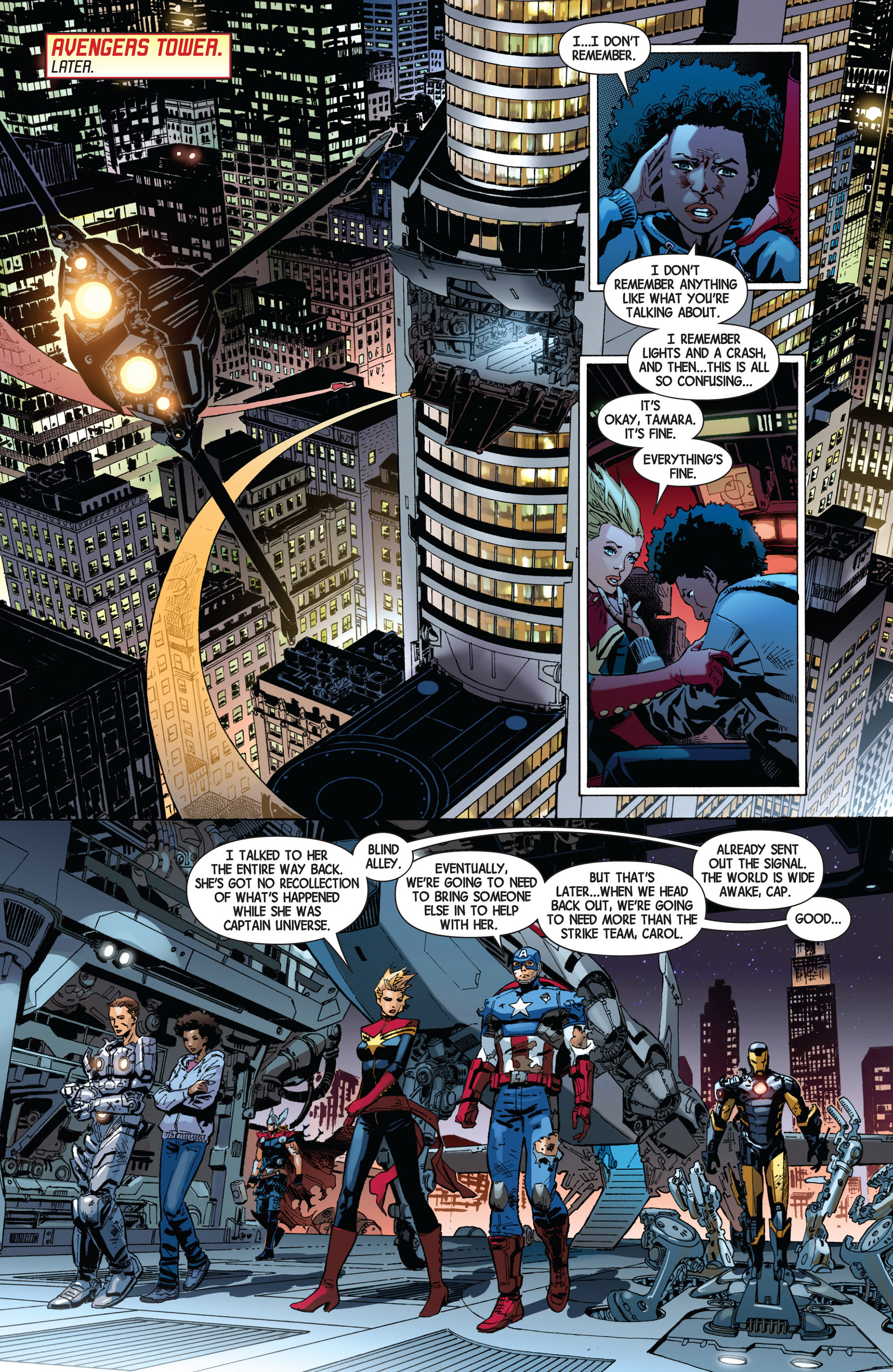 Read online Avengers (2013) comic -  Issue #8 - 20