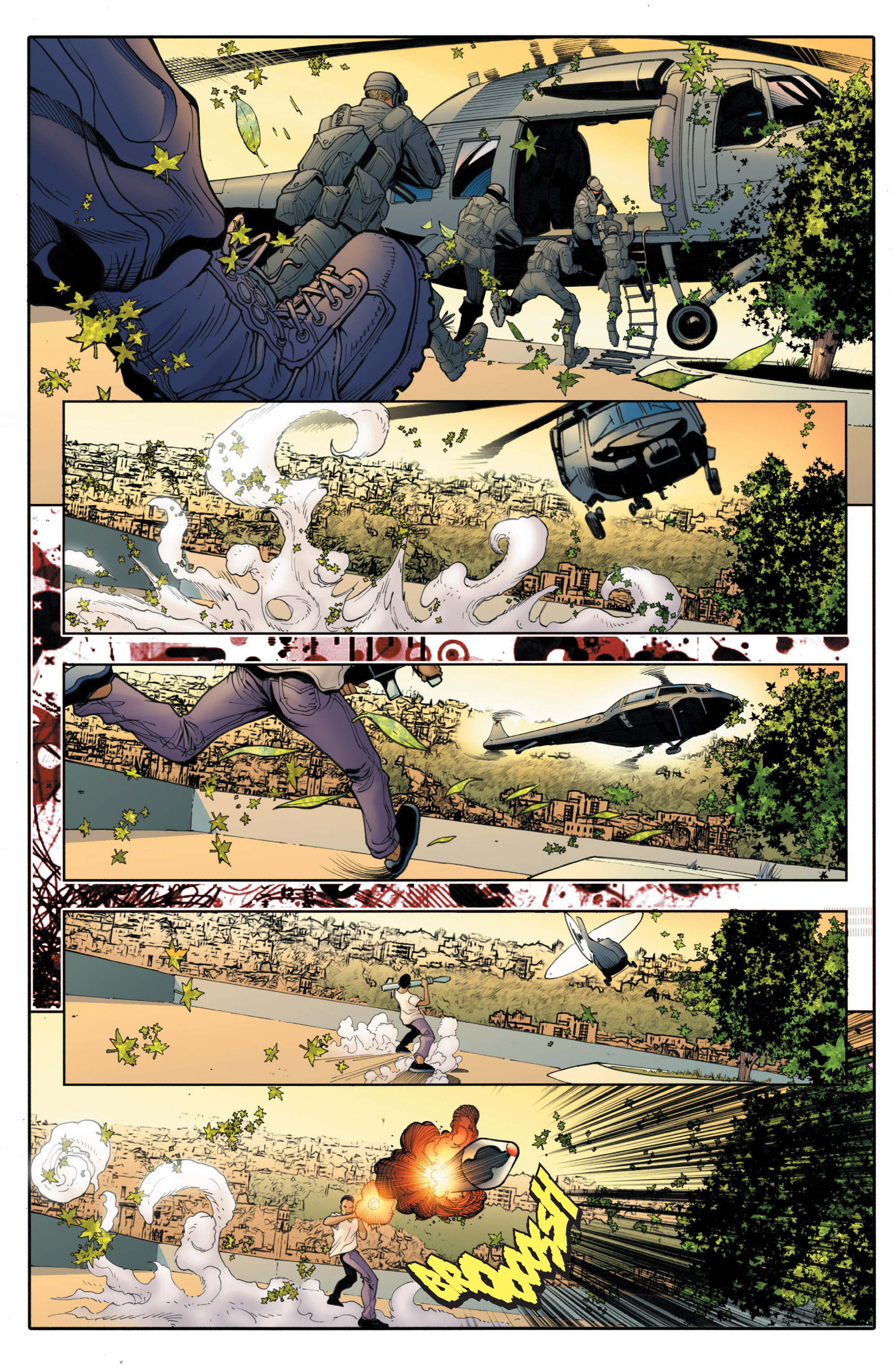 Read online Bloodshot and H.A.R.D.Corps comic -  Issue # TPB 4 - 110