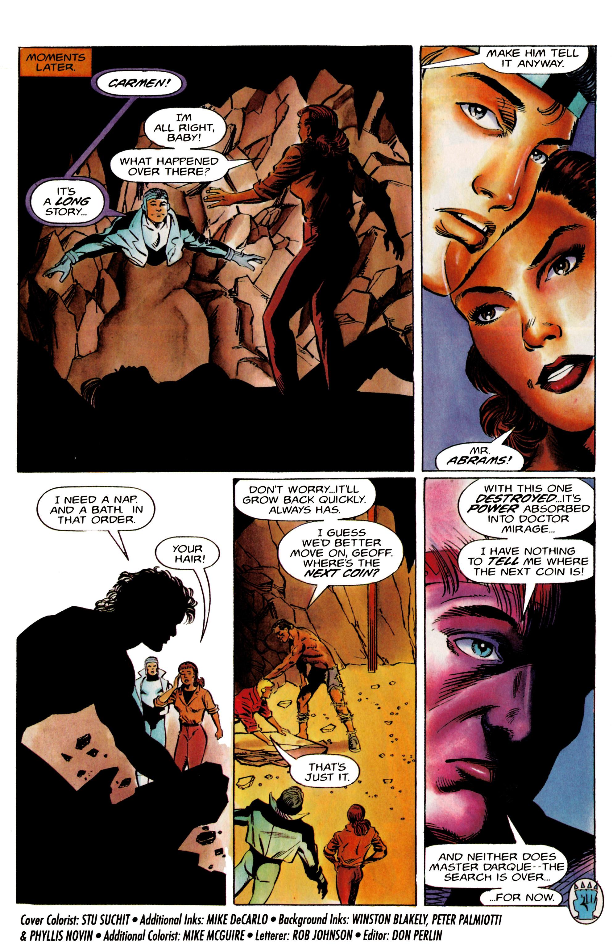 Read online Eternal Warrior (1992) comic -  Issue #19 - 22