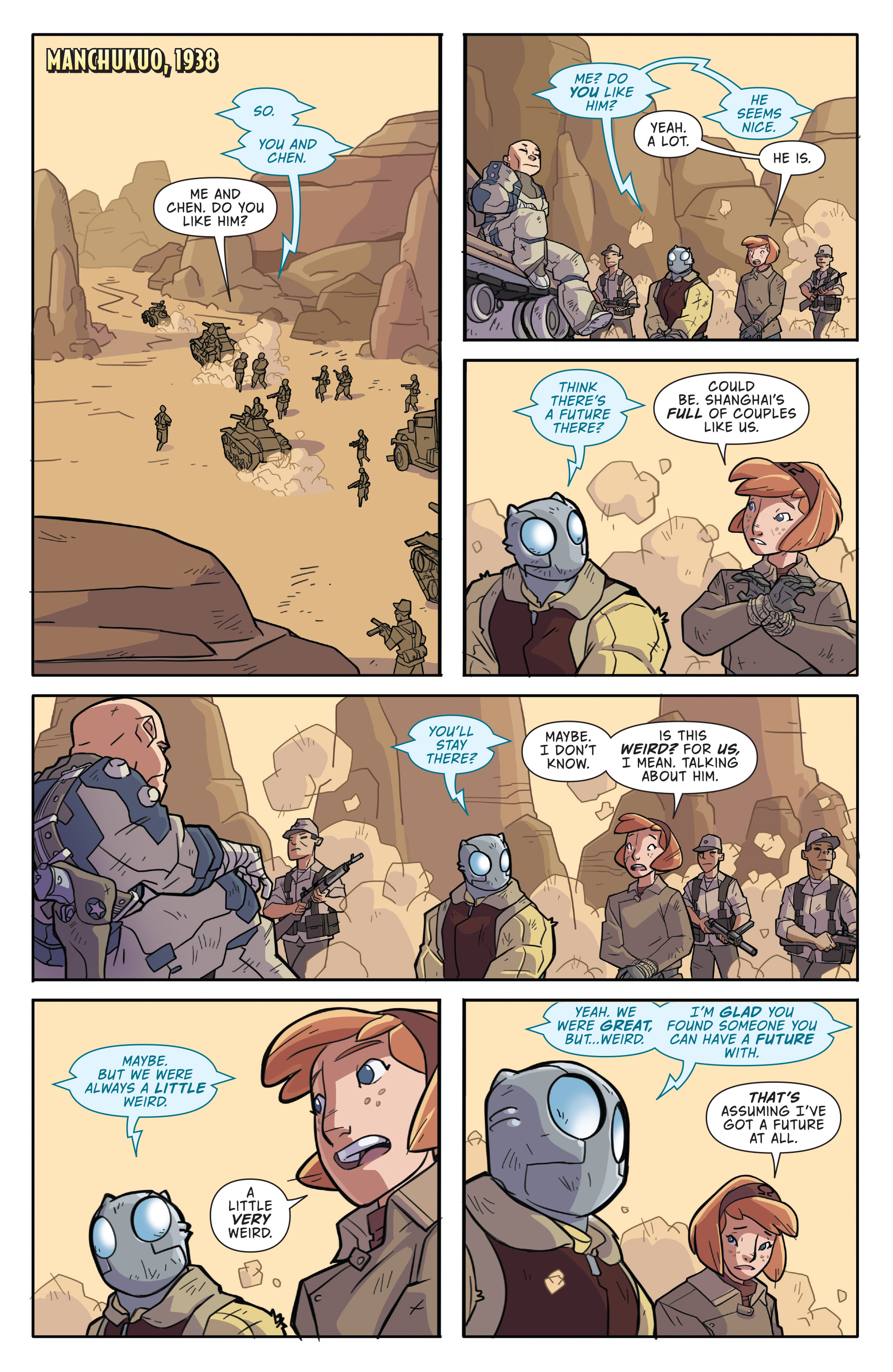 Read online Atomic Robo and the Temple of Od comic -  Issue #2 - 6