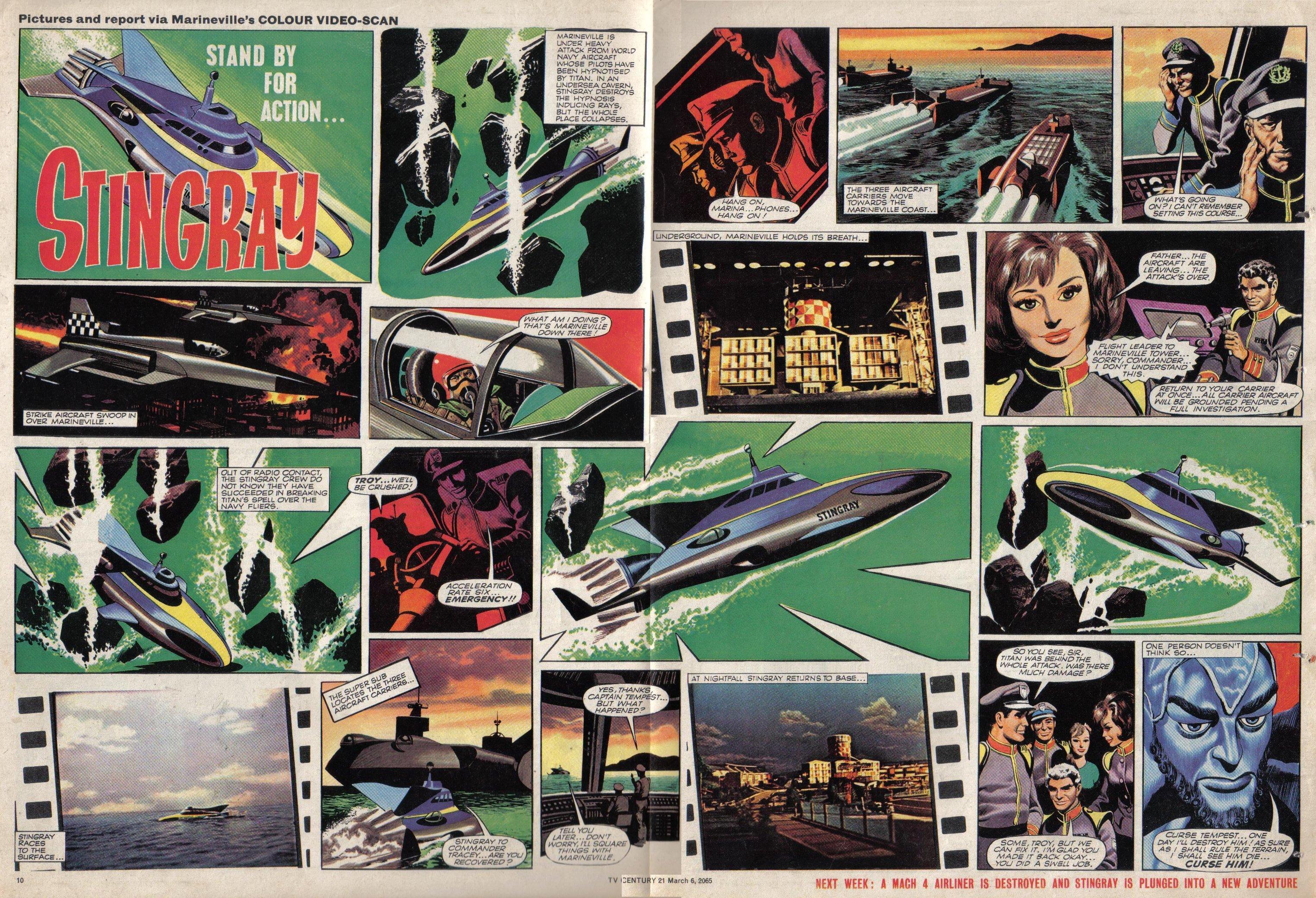 Read online TV Century 21 (TV 21) comic -  Issue #7 - 10