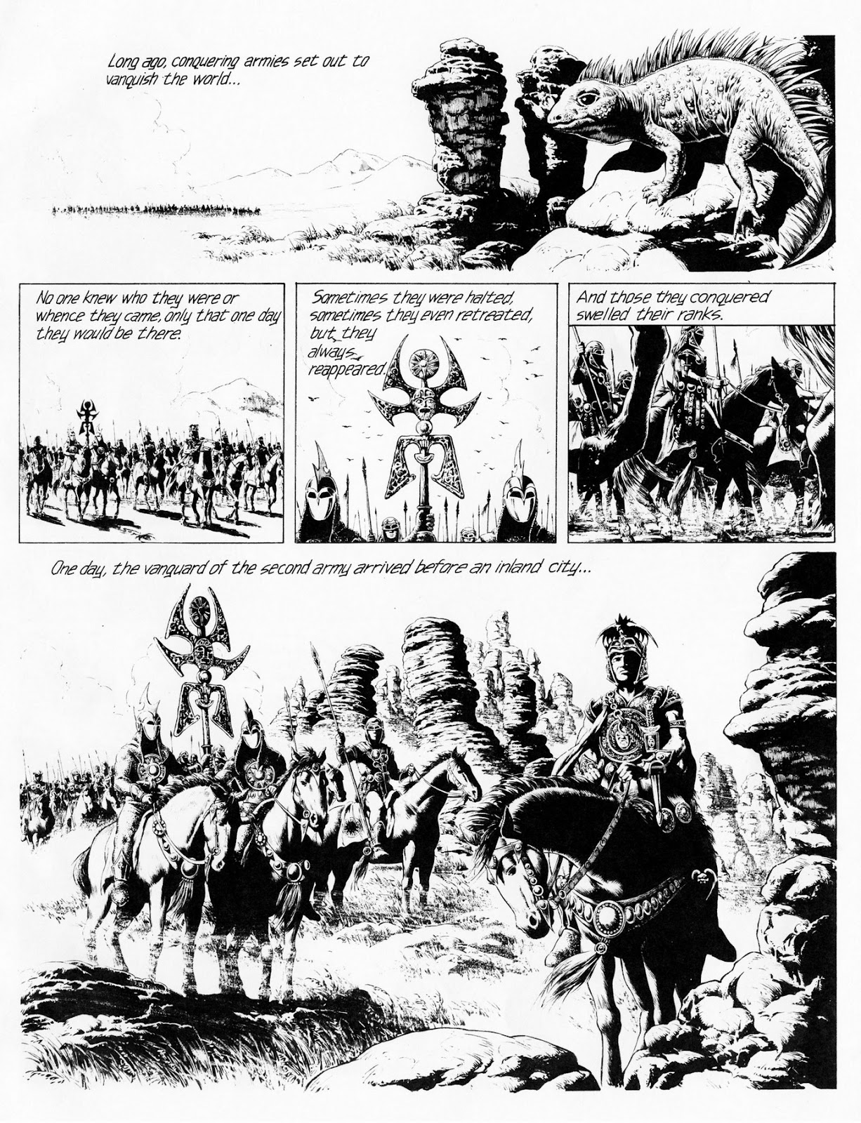 Conquering Armies issue TPB - Page 5