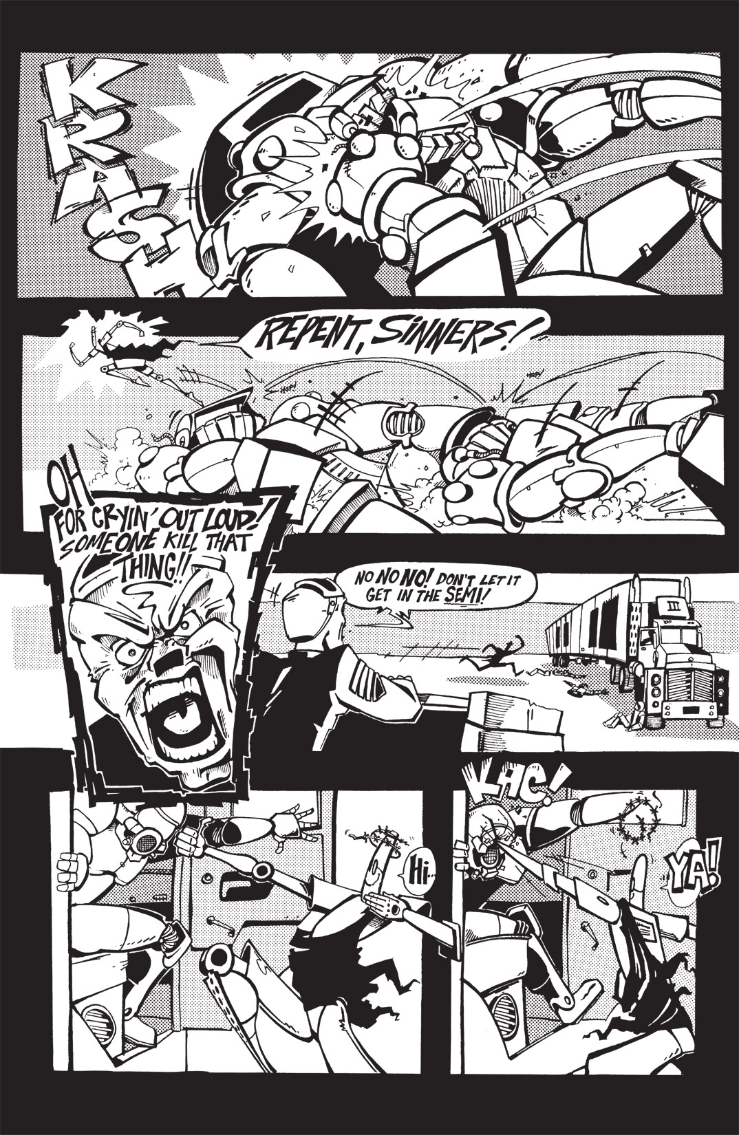 Read online Scud: The Disposable Assassin: The Whole Shebang comic -  Issue # TPB (Part 1) - 78