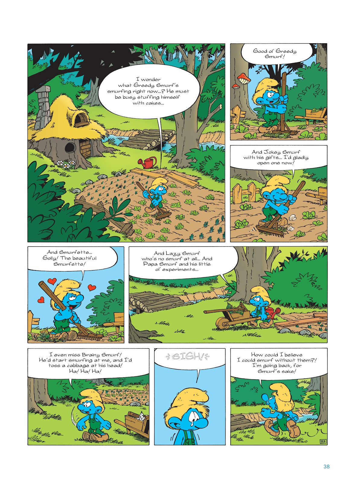 Read online The Smurfs comic -  Issue #23 - 38