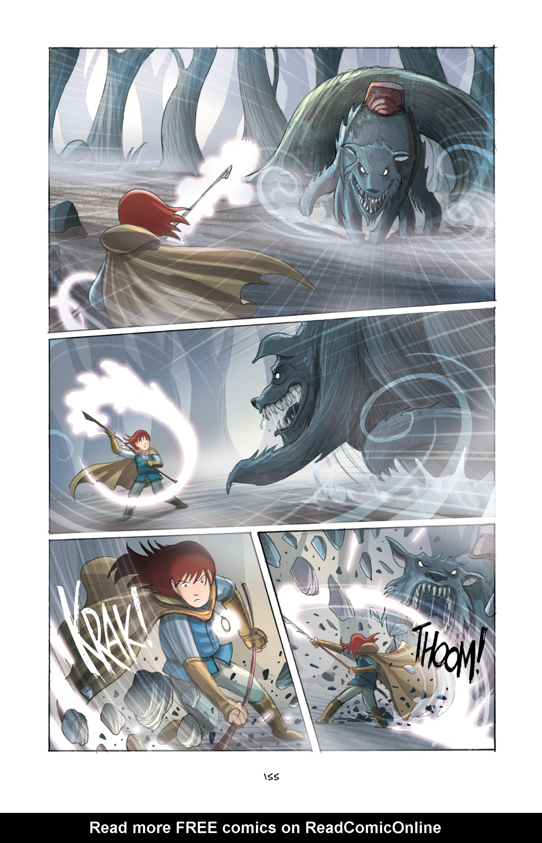 Read online Amulet comic -  Issue #2 - 154