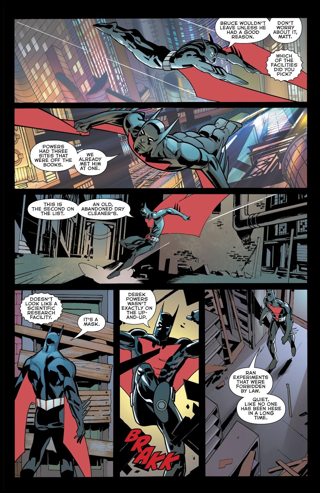 Read online Batman Beyond (2016) comic -  Issue #32 - 14