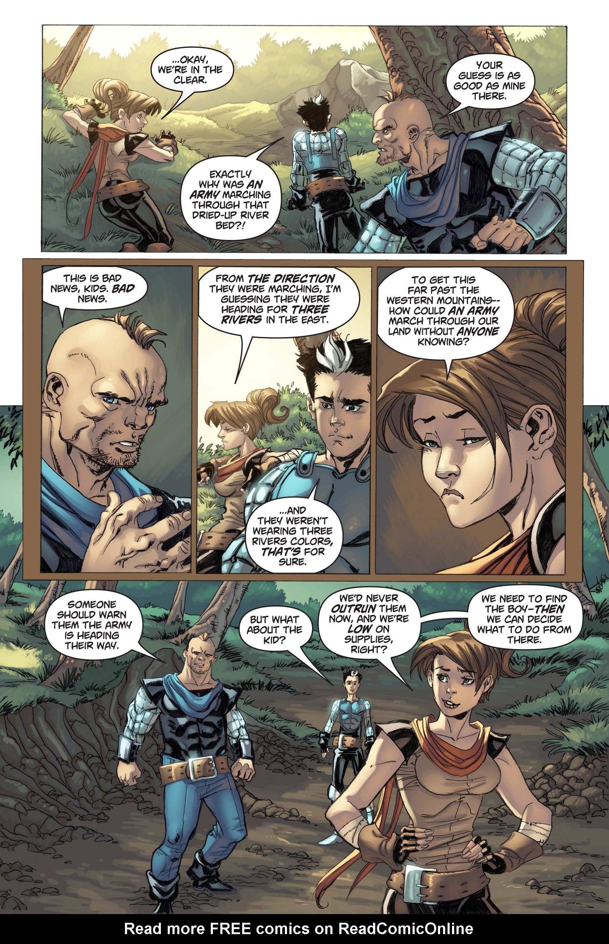 Read online Skyward comic -  Issue #3 - 20