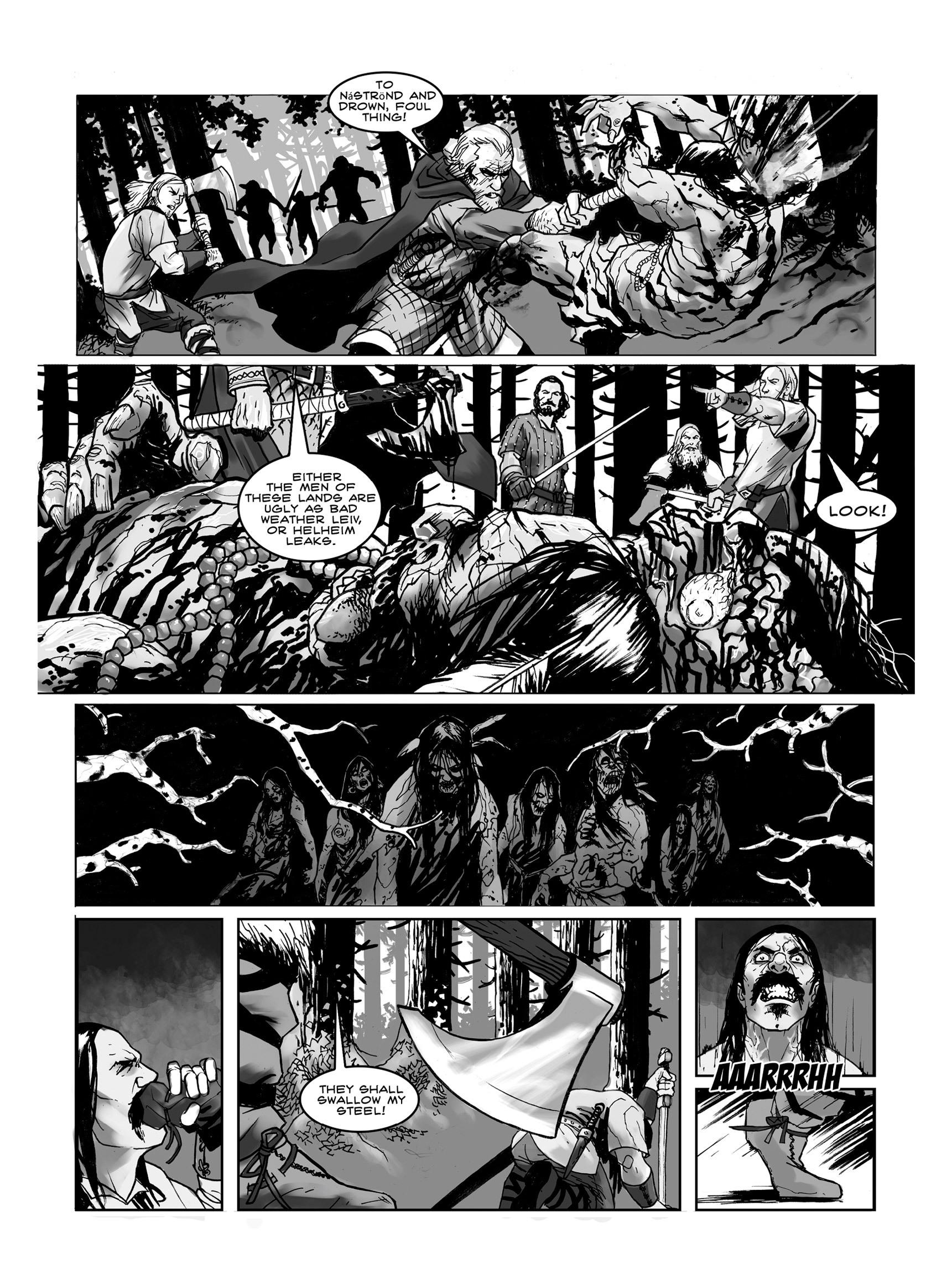 Read online FUBAR comic -  Issue #3 - 10