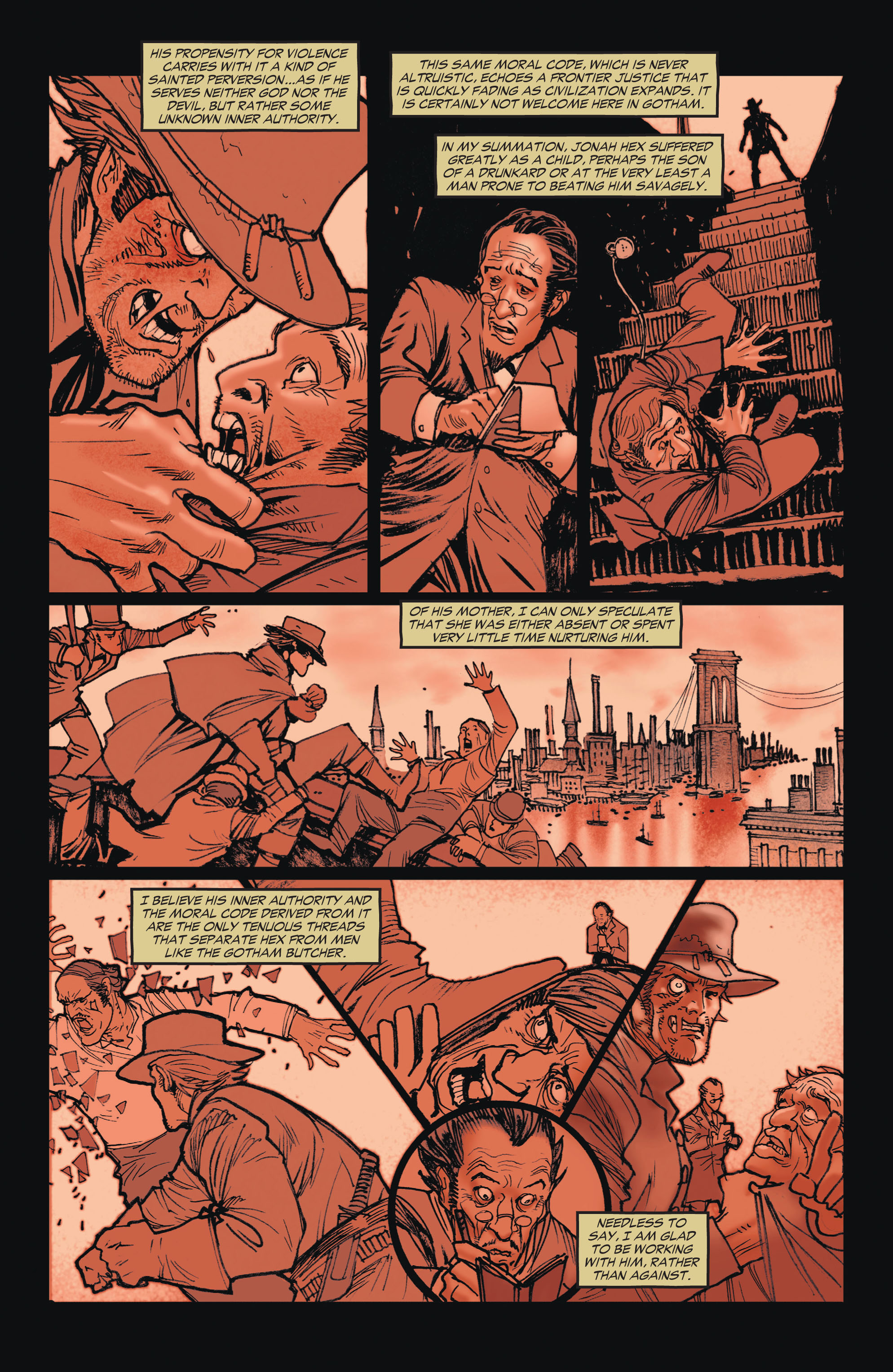 Read online All-Star Western (2011) comic -  Issue #1 - 23