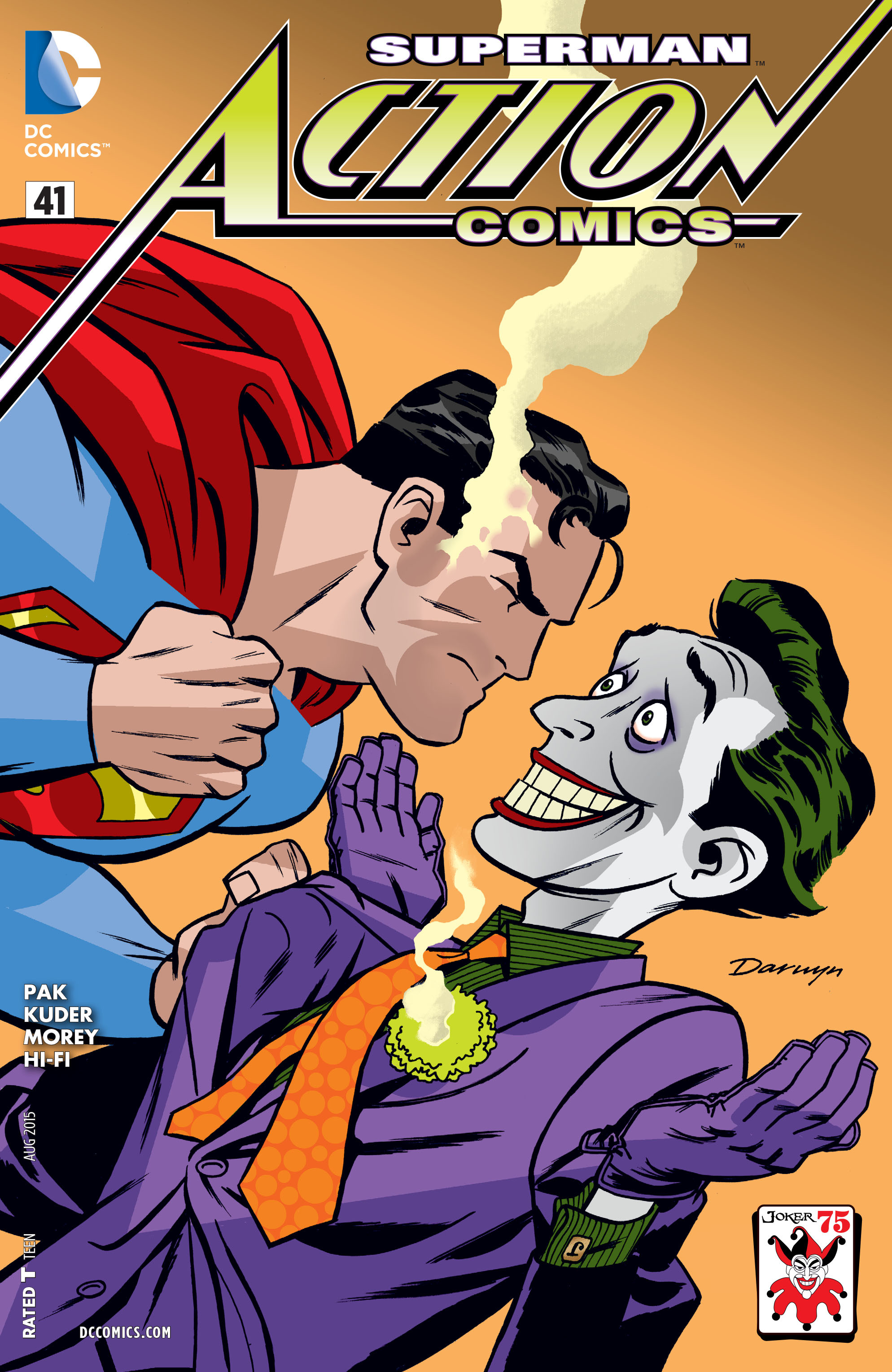 Read online Action Comics (2011) comic -  Issue #41 - 3