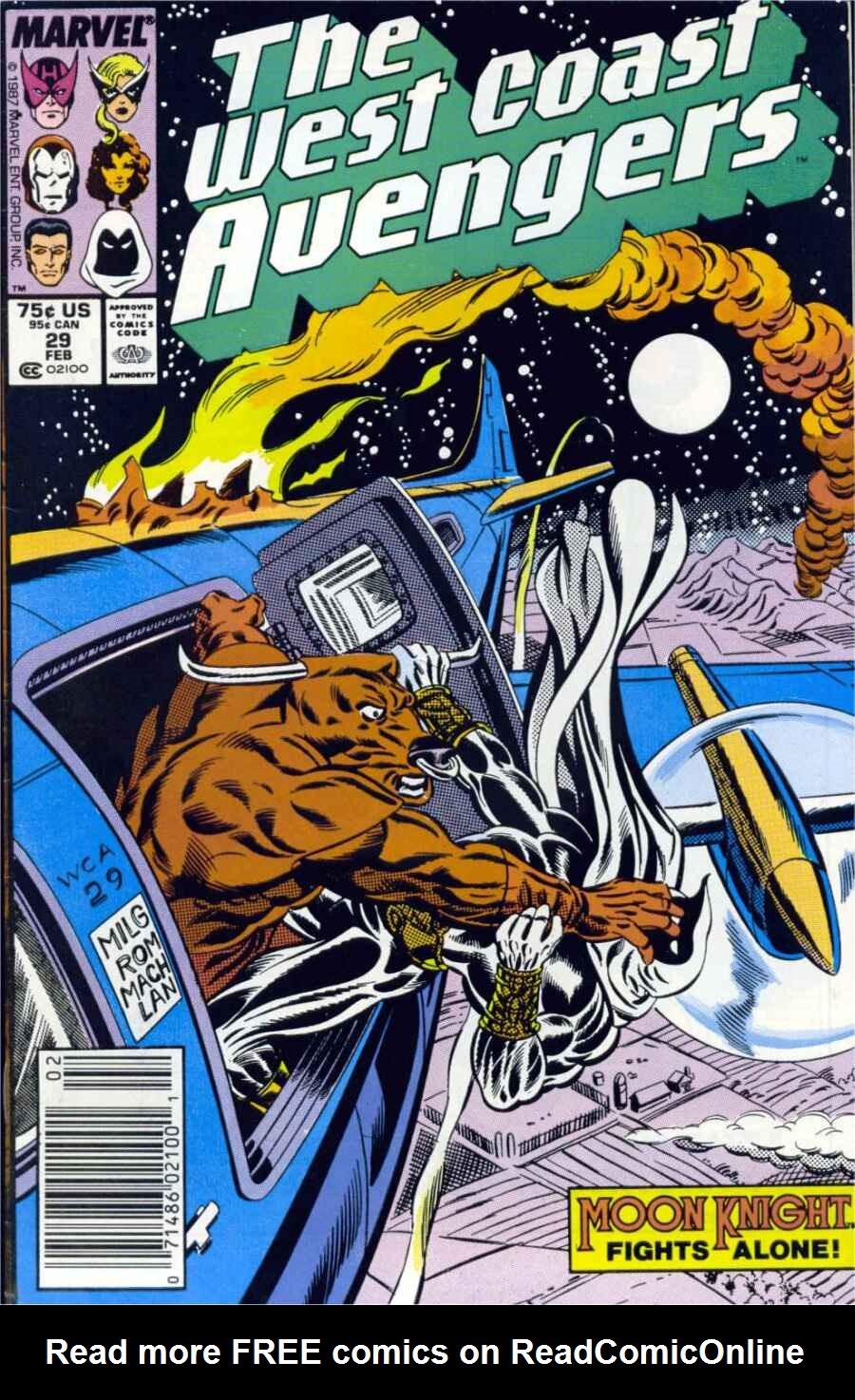 West Coast Avengers (1985) 29 Page 1