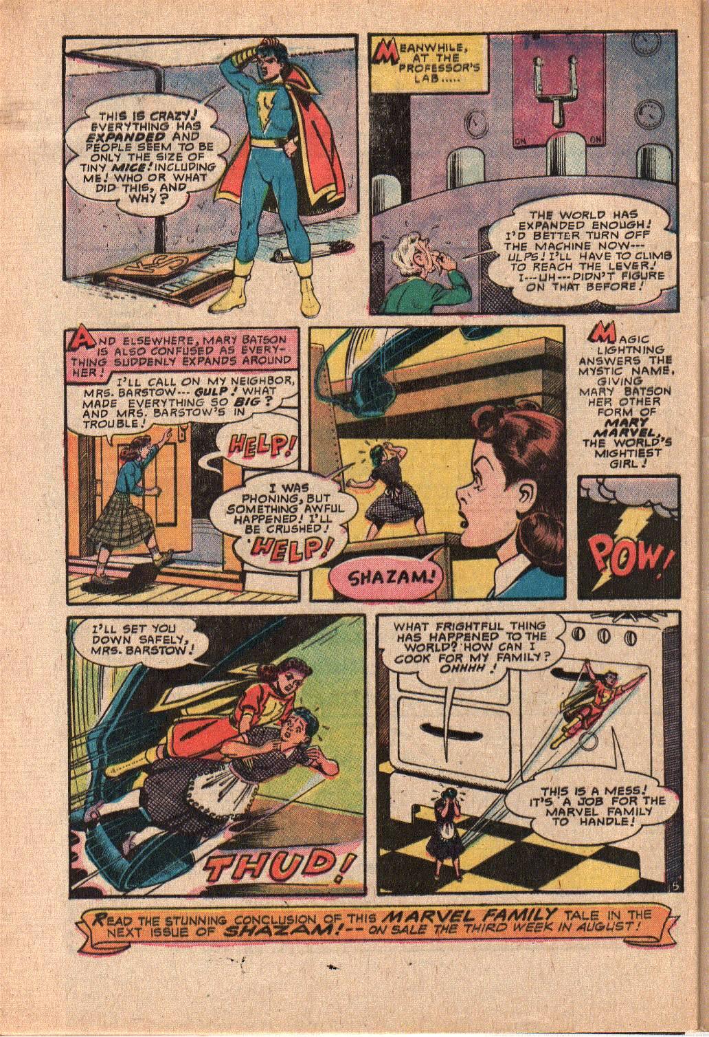 Read online Shazam! (1973) comic -  Issue #6 - 32
