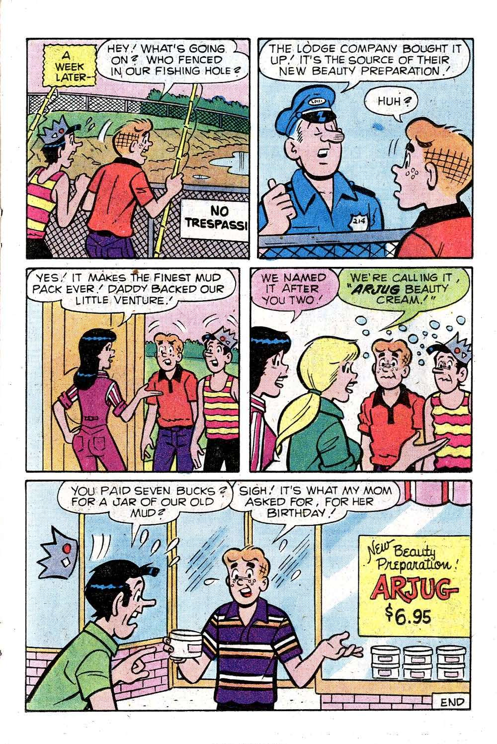 Read online Archie (1960) comic -  Issue #287 - 17