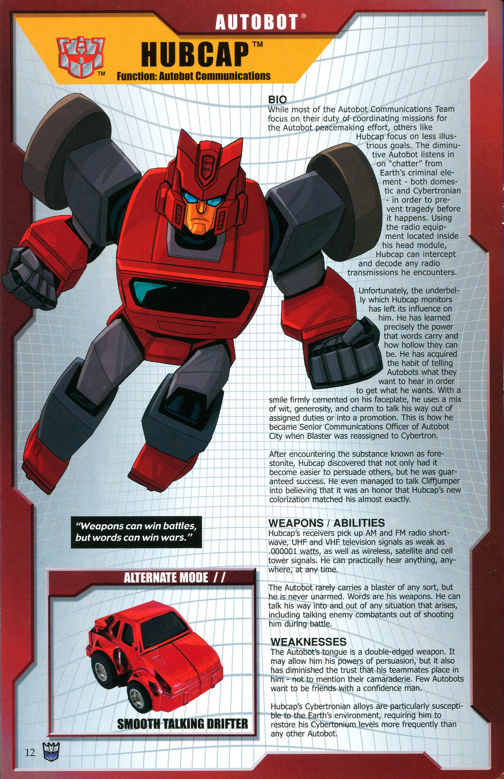 Read online Transformers: Collectors' Club comic -  Issue #46 - 12