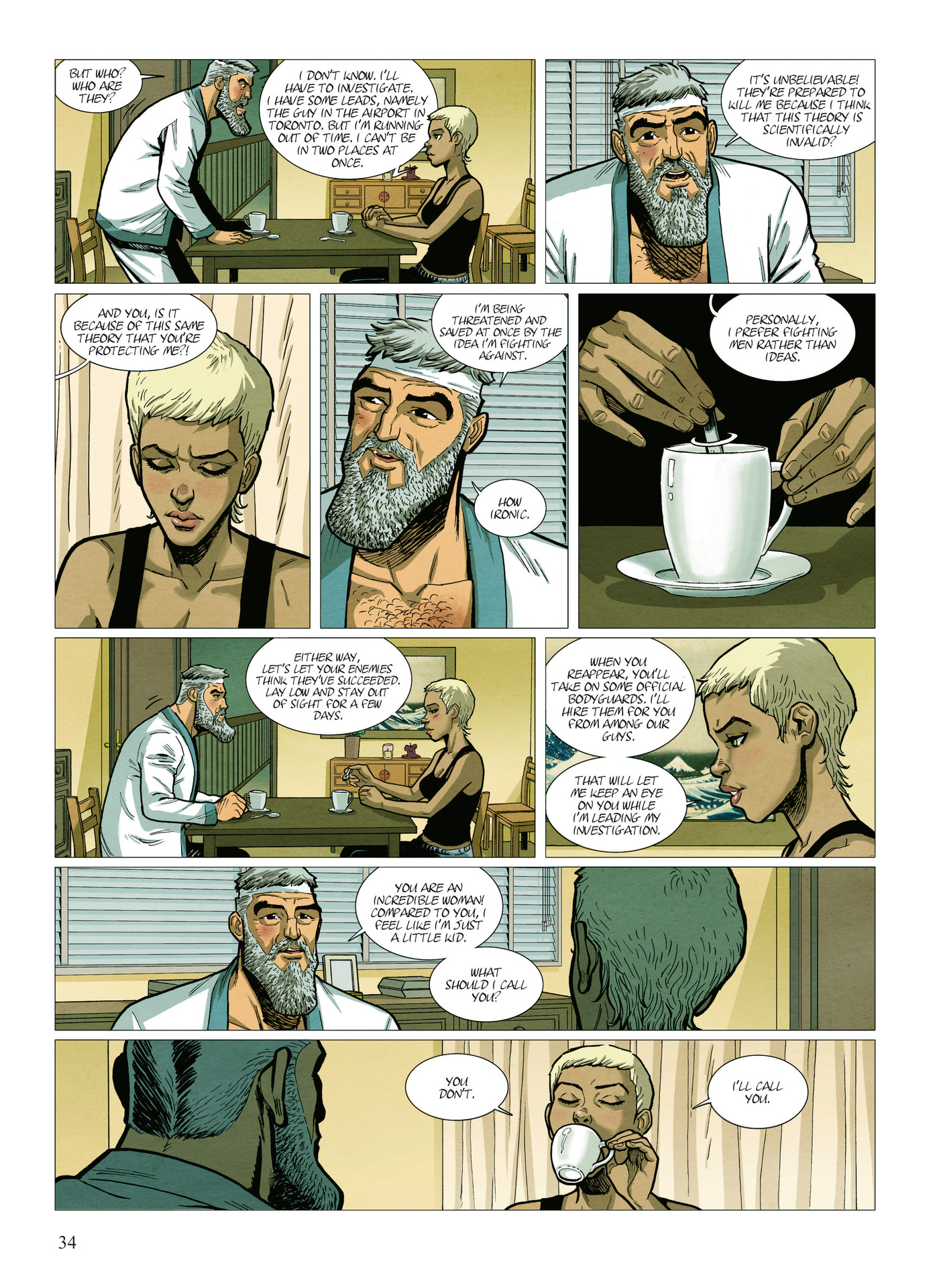 Read online Alter Ego comic -  Issue #10 - 35