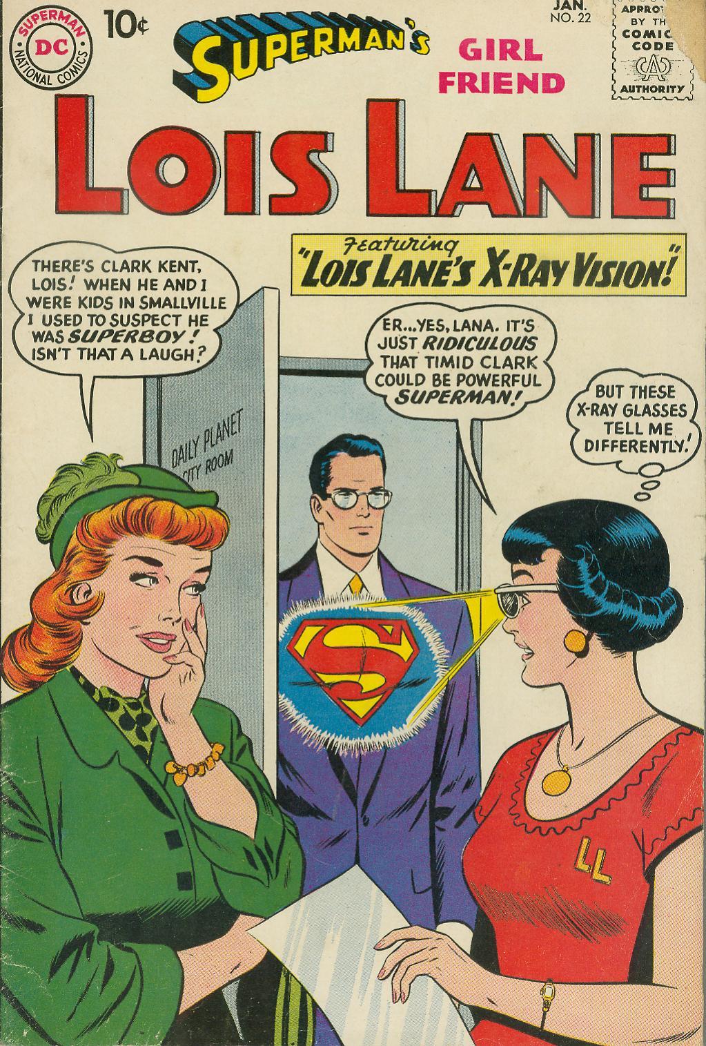 Supermans Girl Friend, Lois Lane 22 Page 1