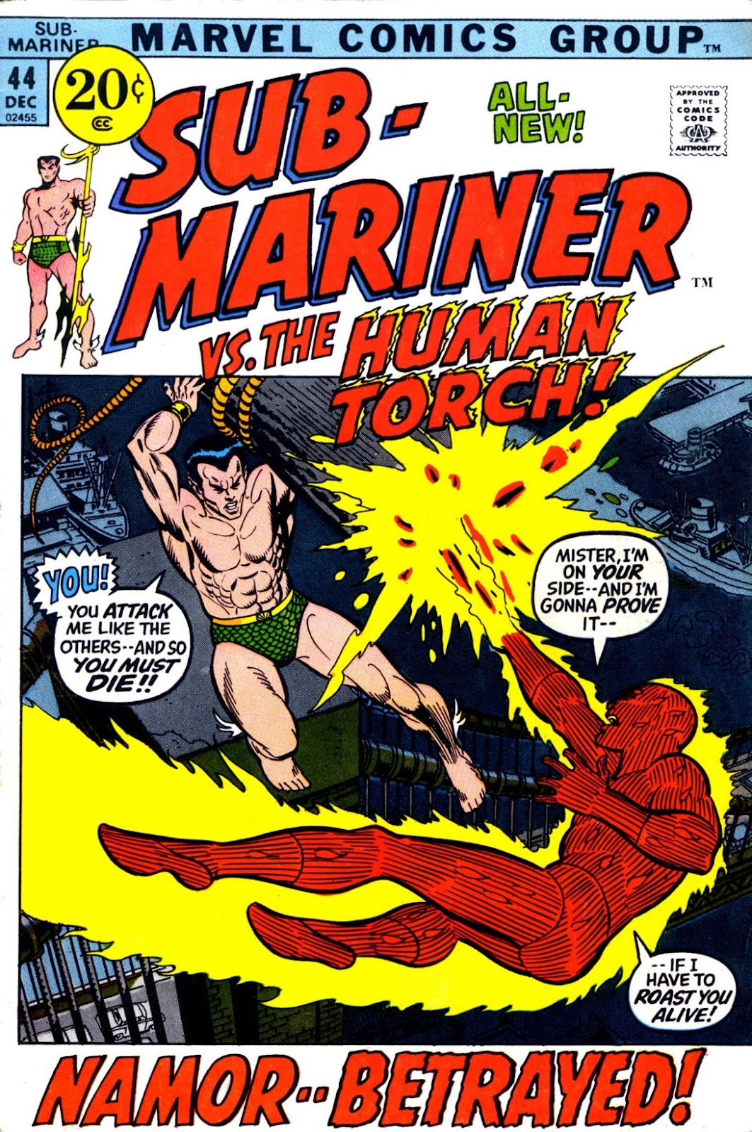 The Sub-Mariner 44 Page 1
