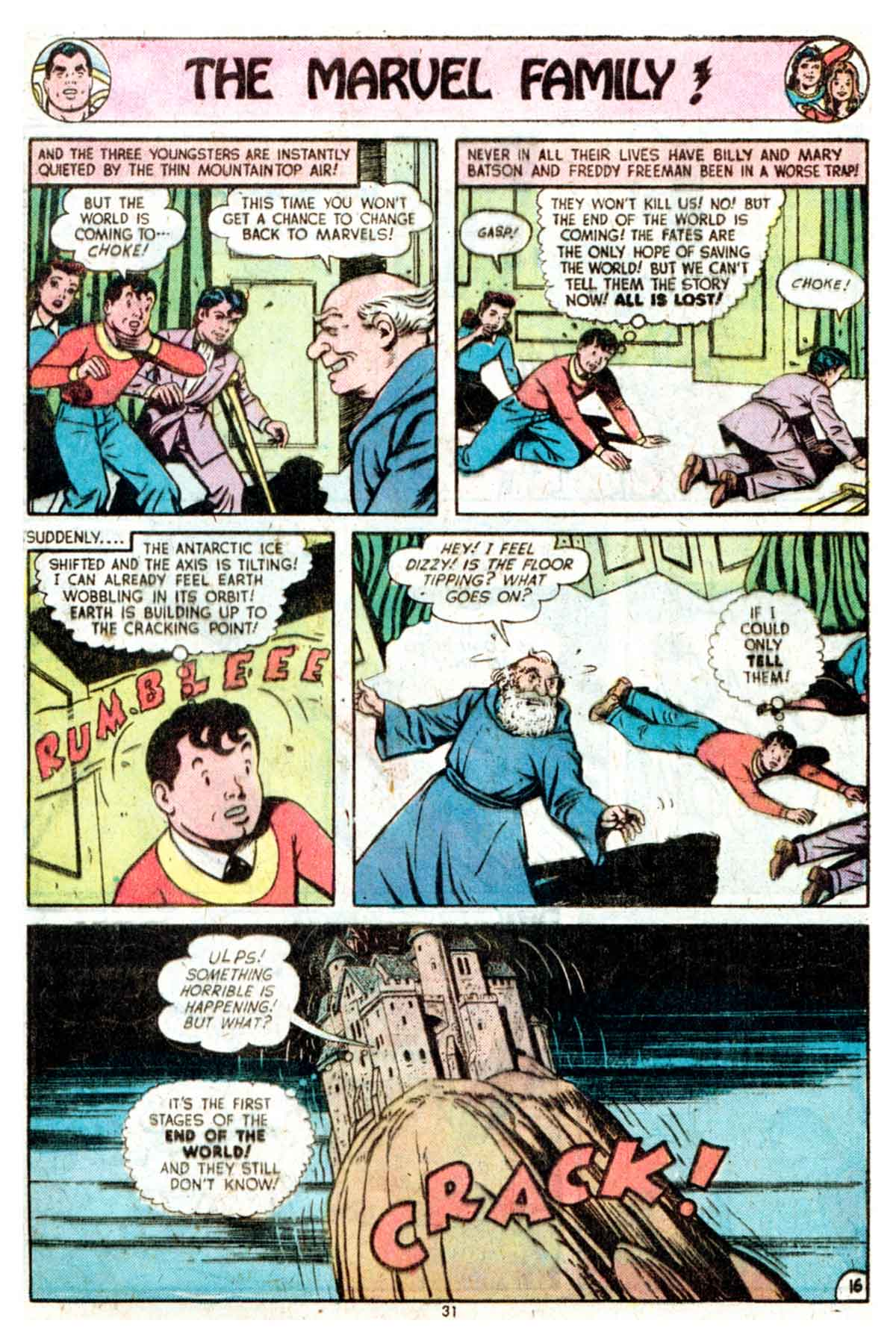 Read online Shazam! (1973) comic -  Issue #16 - 31