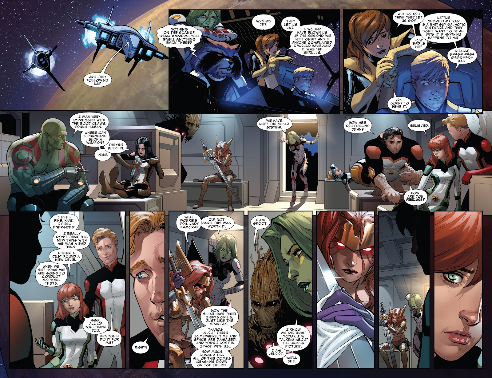 Guardians of the Galaxy/All-New X-Men: The Trial of Jean Grey issue TPB - Page 106