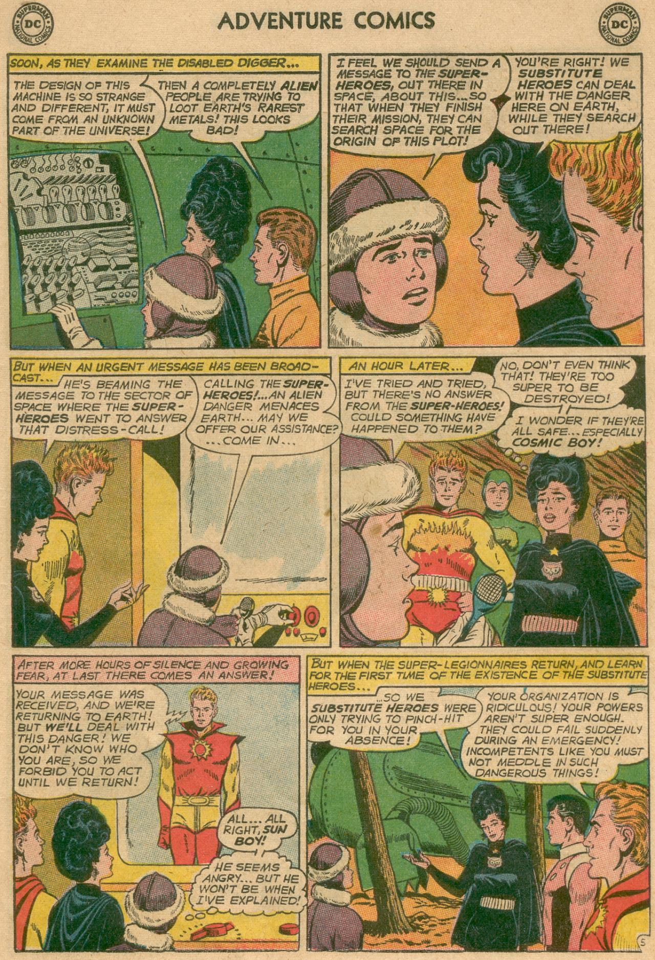 Read online Adventure Comics (1938) comic -  Issue #311 - 6