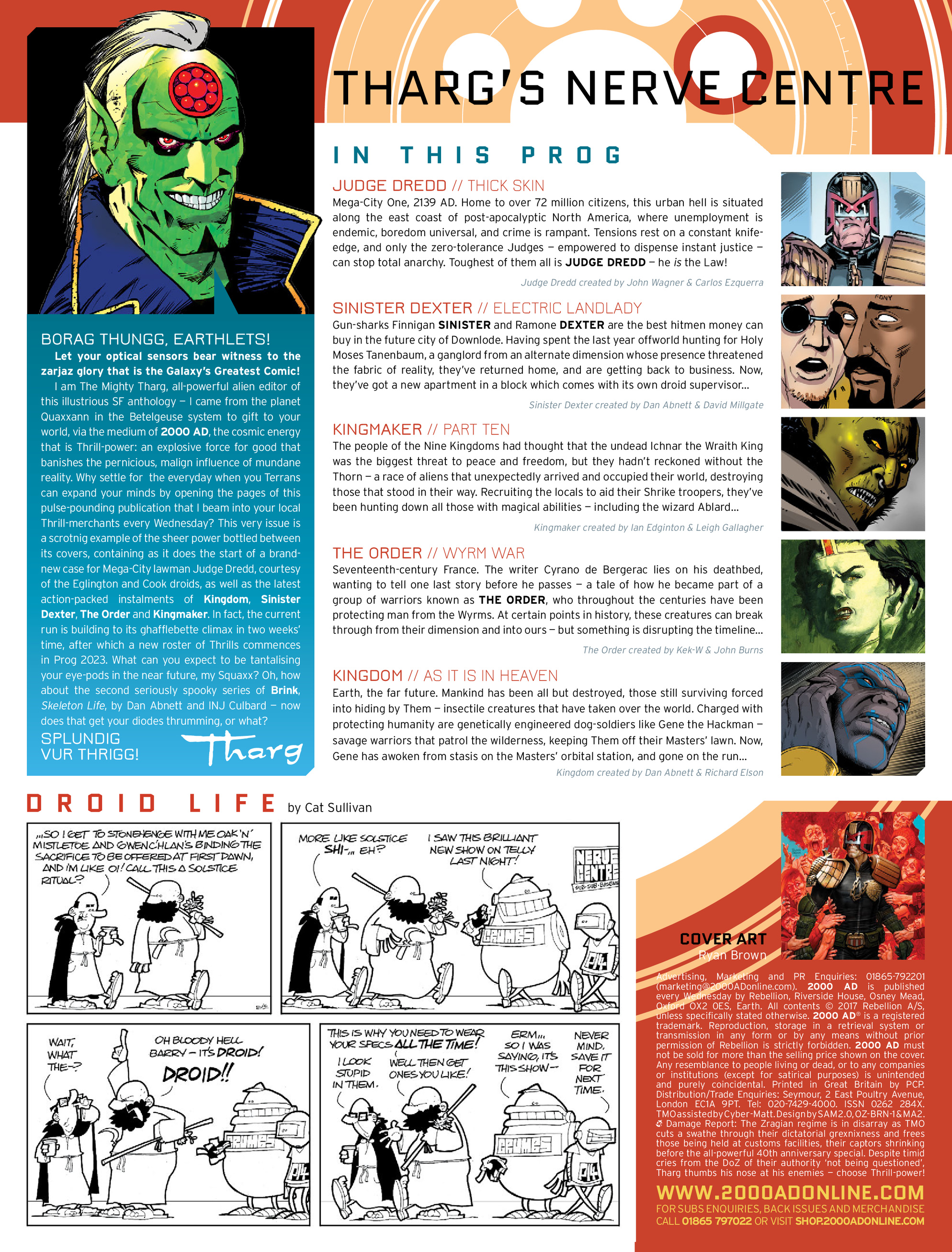 Read online 2000 AD comic -  Issue #2020 - 2