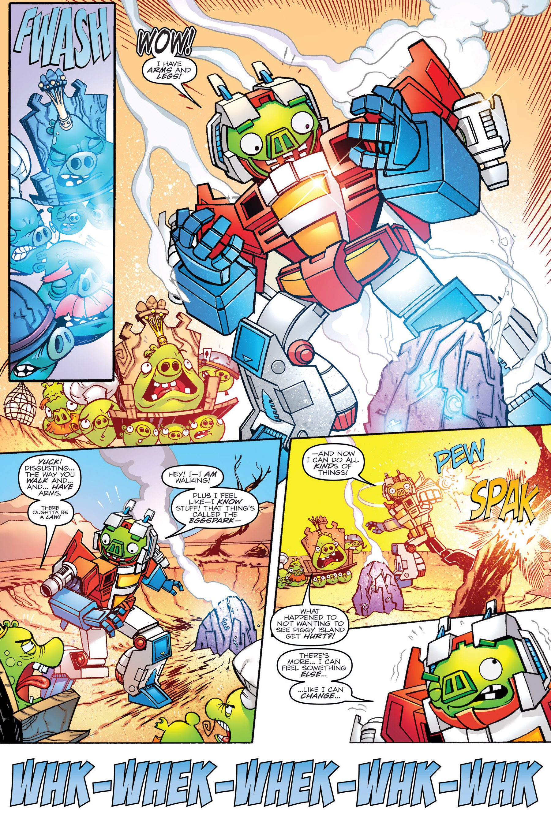 Read online Angry Birds Transformers: Age of Eggstinction comic -  Issue # Full - 17