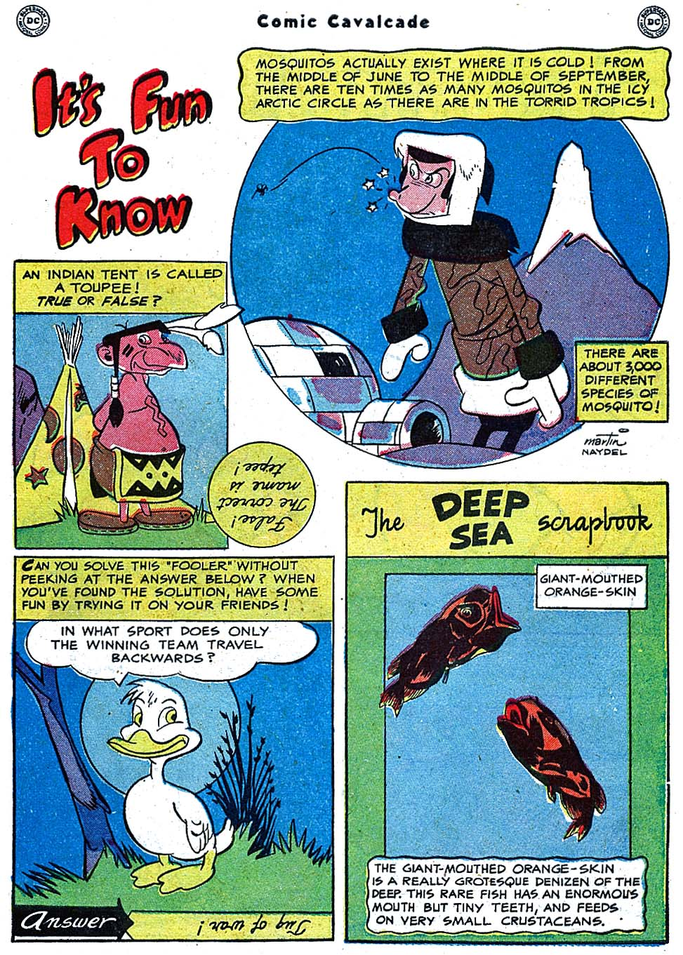 Comic Cavalcade issue 38 - Page 39