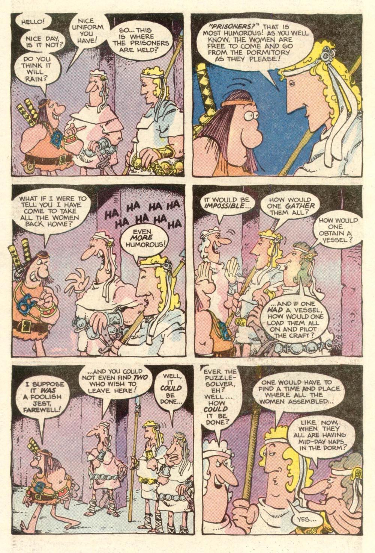 Read online Sergio Aragonés Groo the Wanderer comic -  Issue #4 - 16