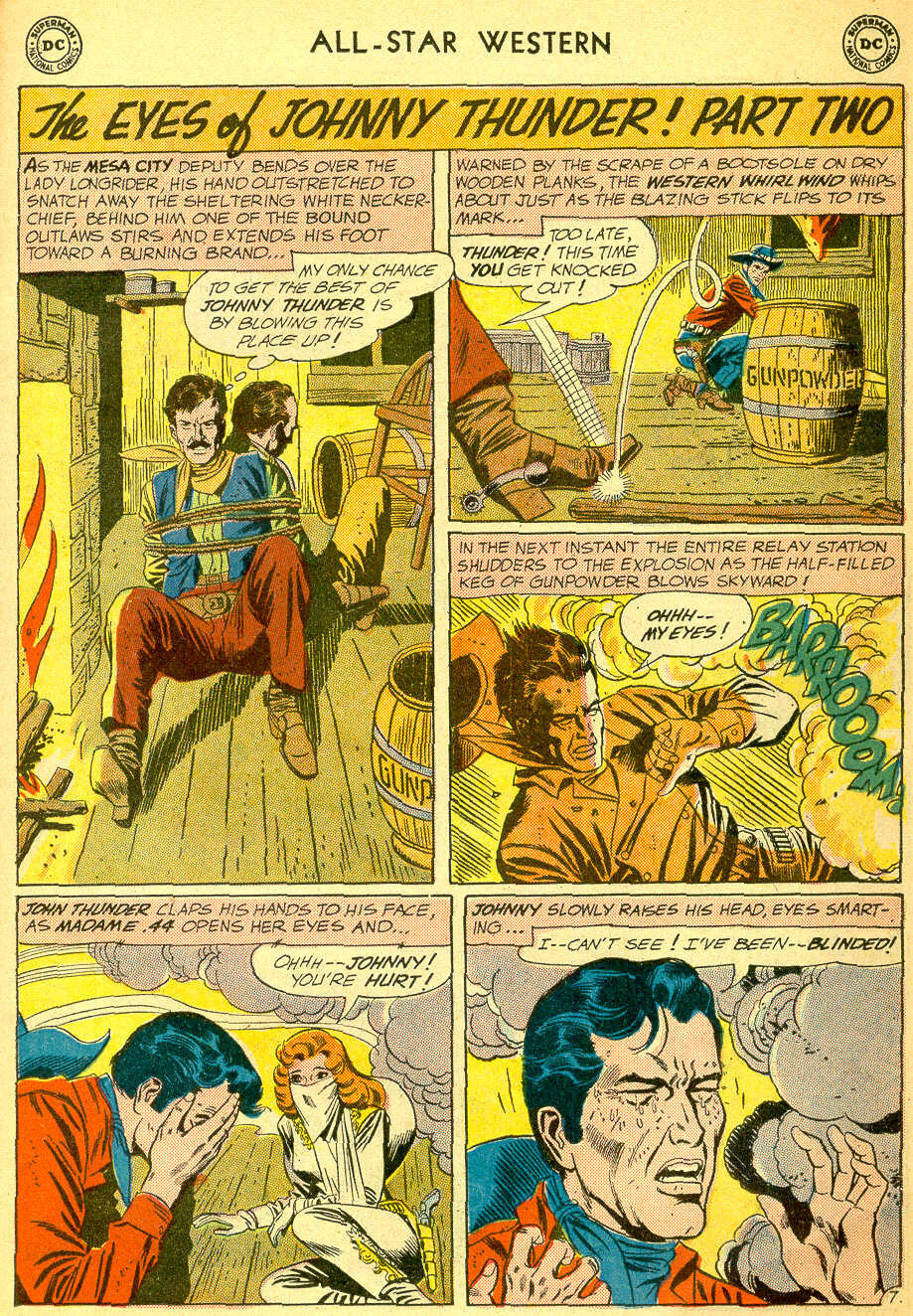 Read online All-Star Western (1951) comic -  Issue #118 - 11