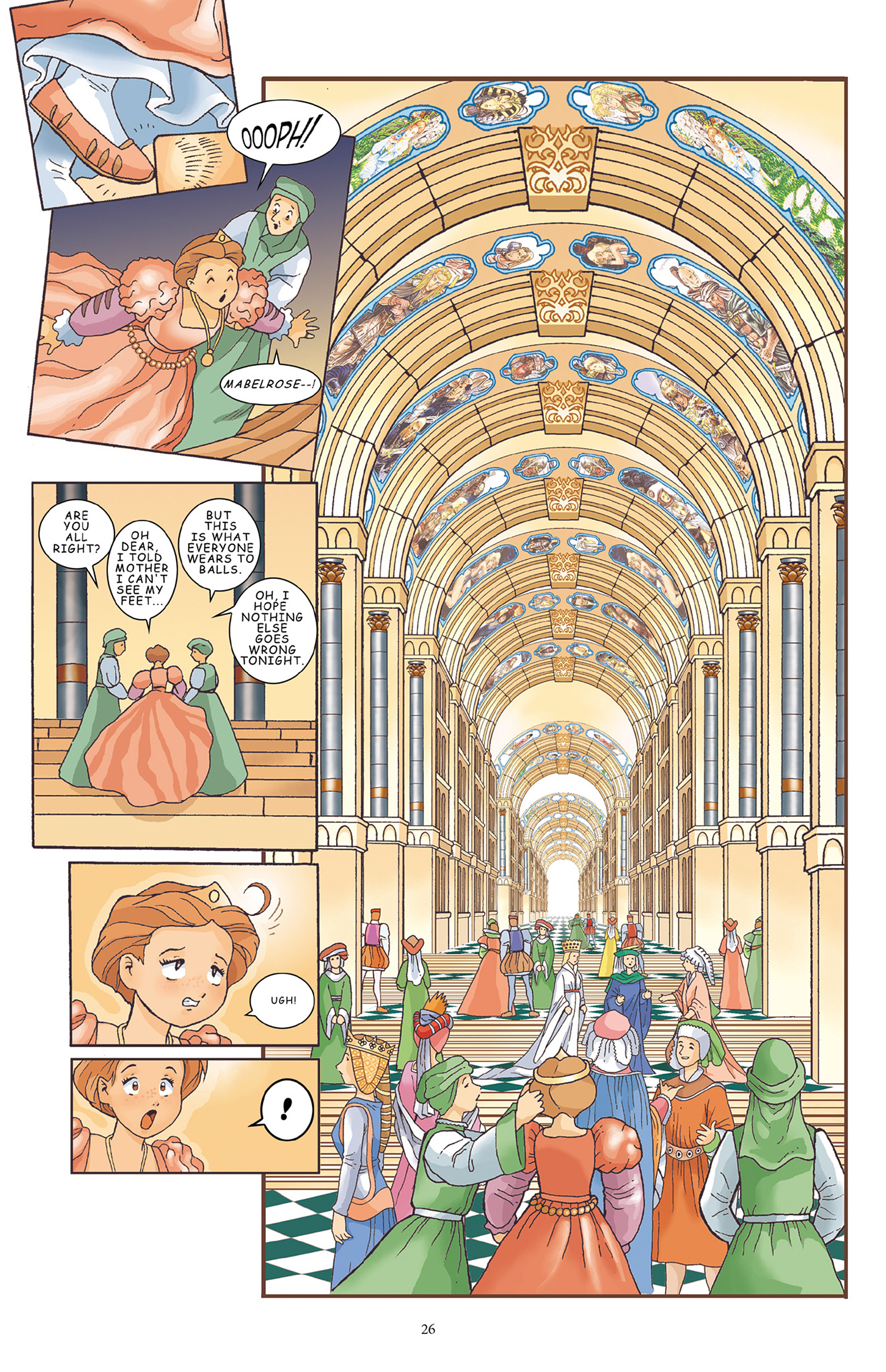 Read online Courageous Princess comic -  Issue # TPB 1 - 27