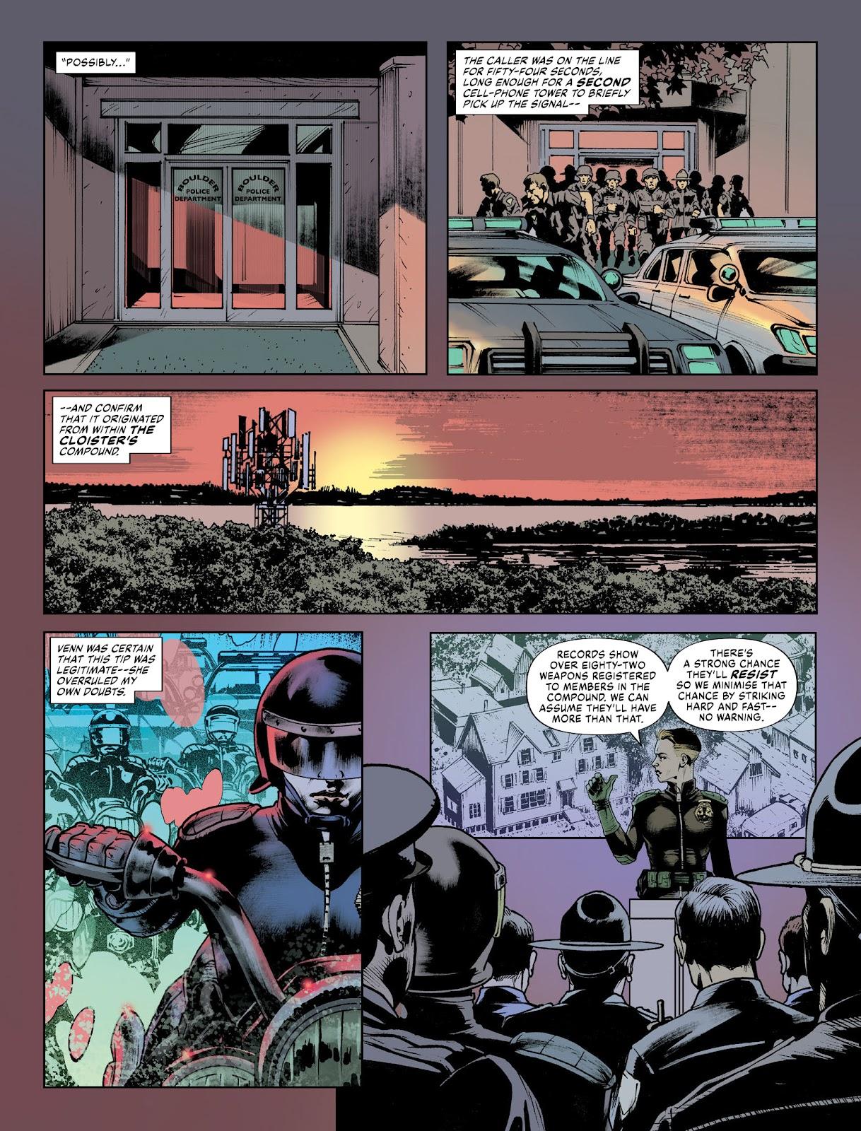Judge Dredd Megazine (Vol. 5) issue 427 - Page 35