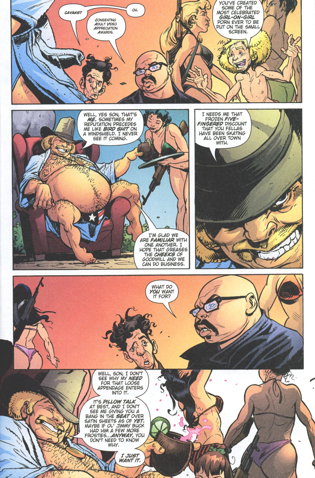 Read online Caper comic -  Issue #11 - 14