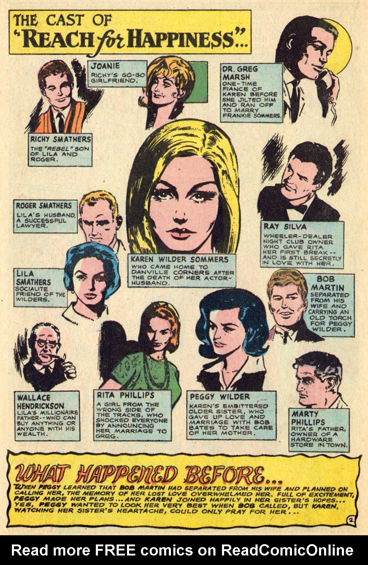 Read online Secret Hearts comic -  Issue #119 - 20