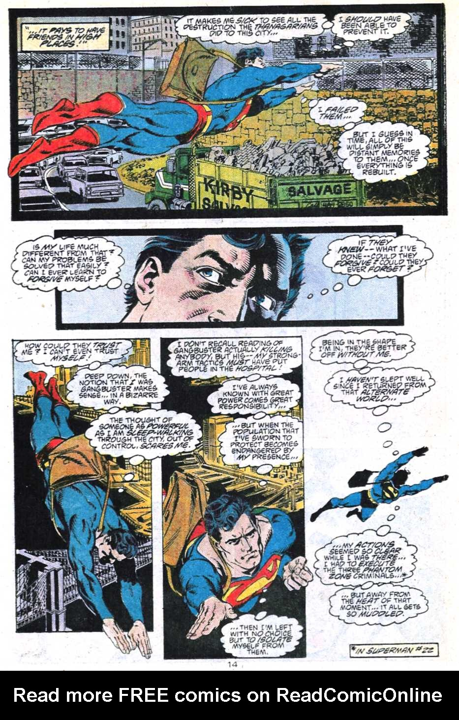 Read online Adventures of Superman (1987) comic -  Issue #450 - 15