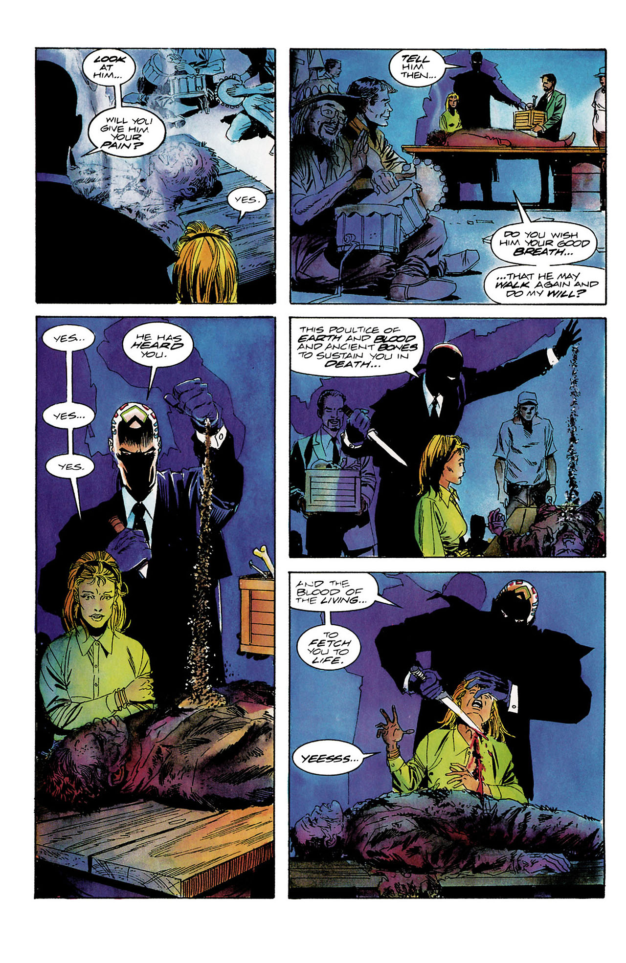Read online Shadowman (1992) comic -  Issue #8 - 20