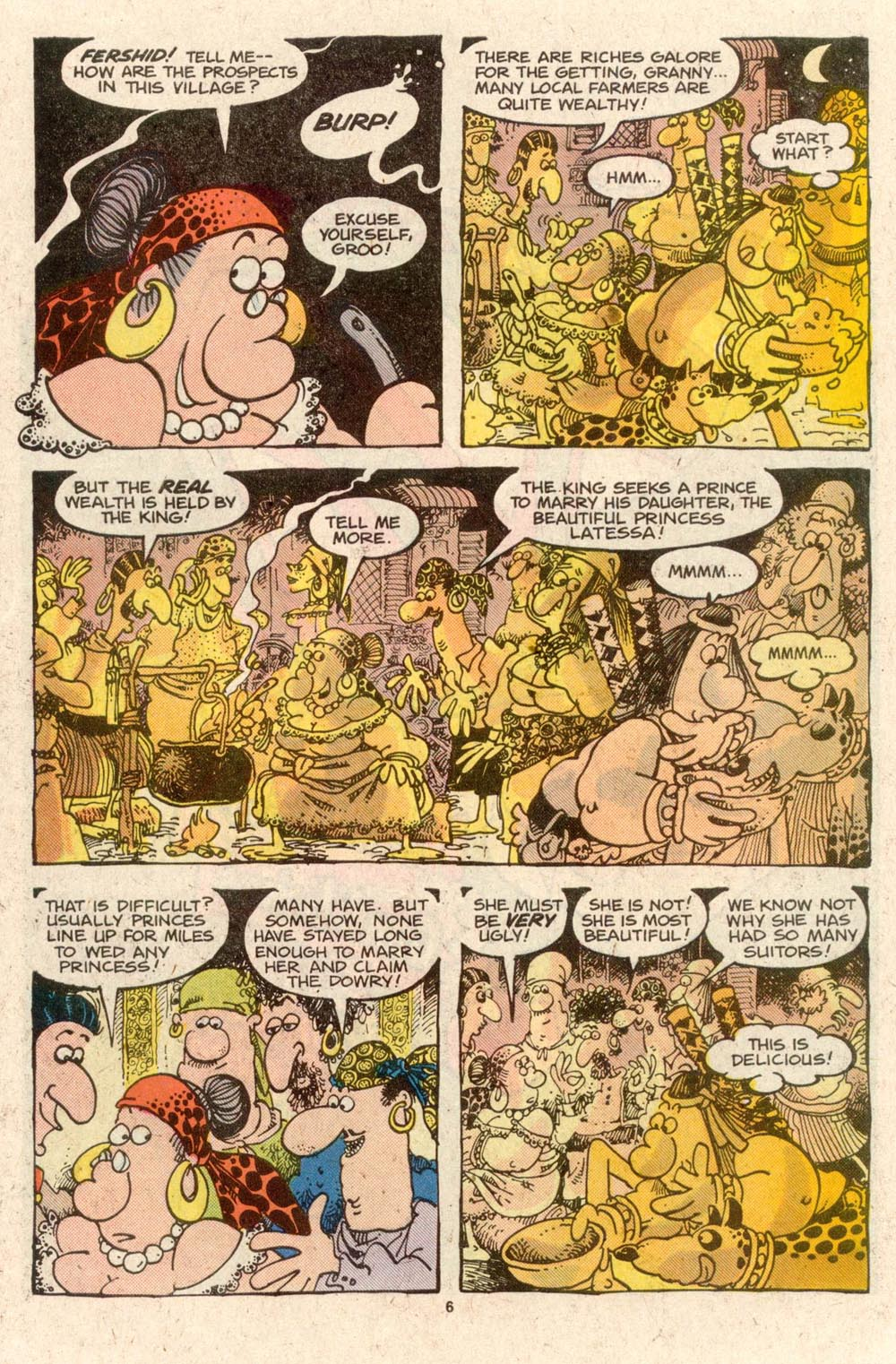 Read online Sergio Aragonés Groo the Wanderer comic -  Issue #42 - 6