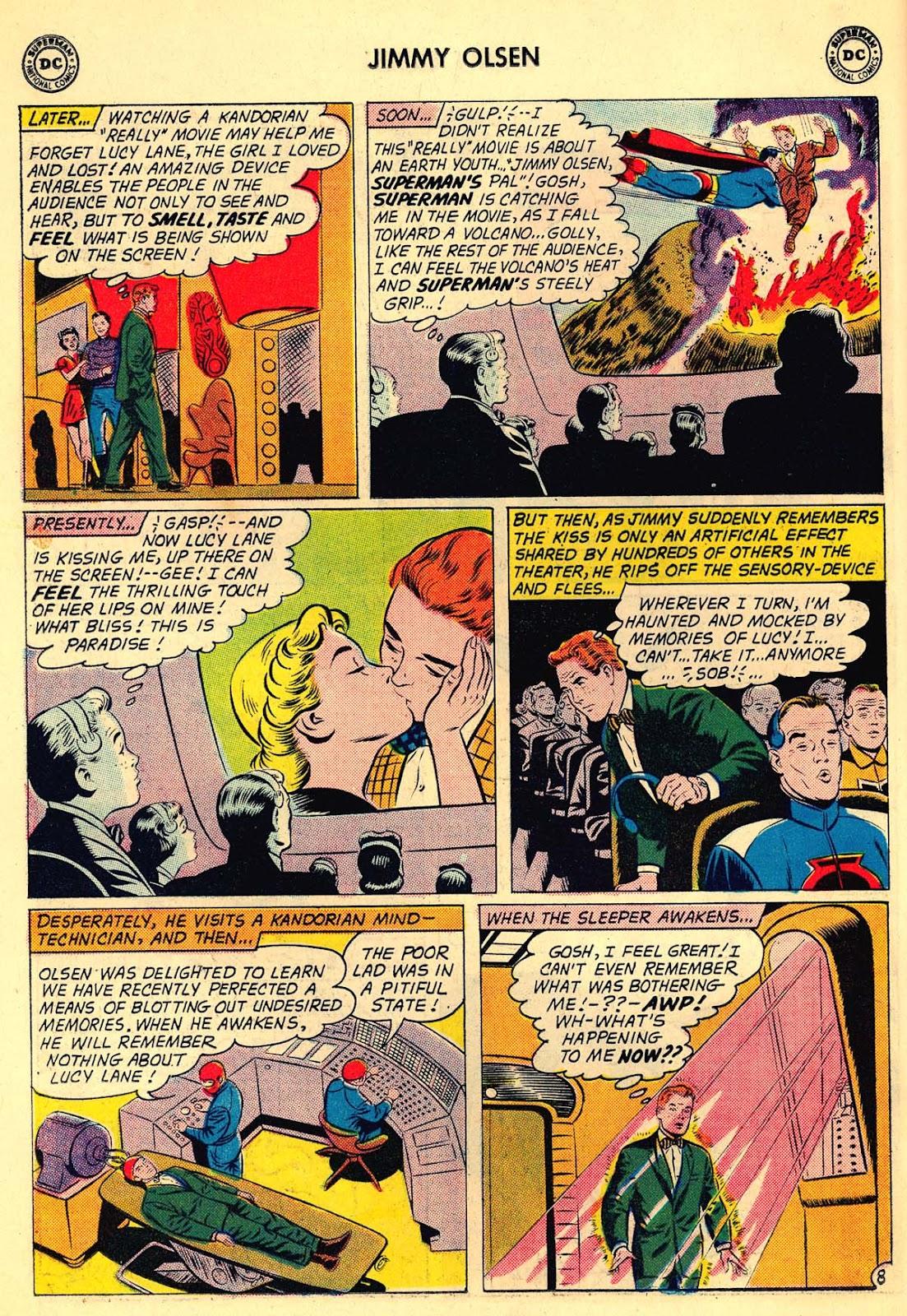 Comic Superman's Pal Jimmy Olsen issue 54