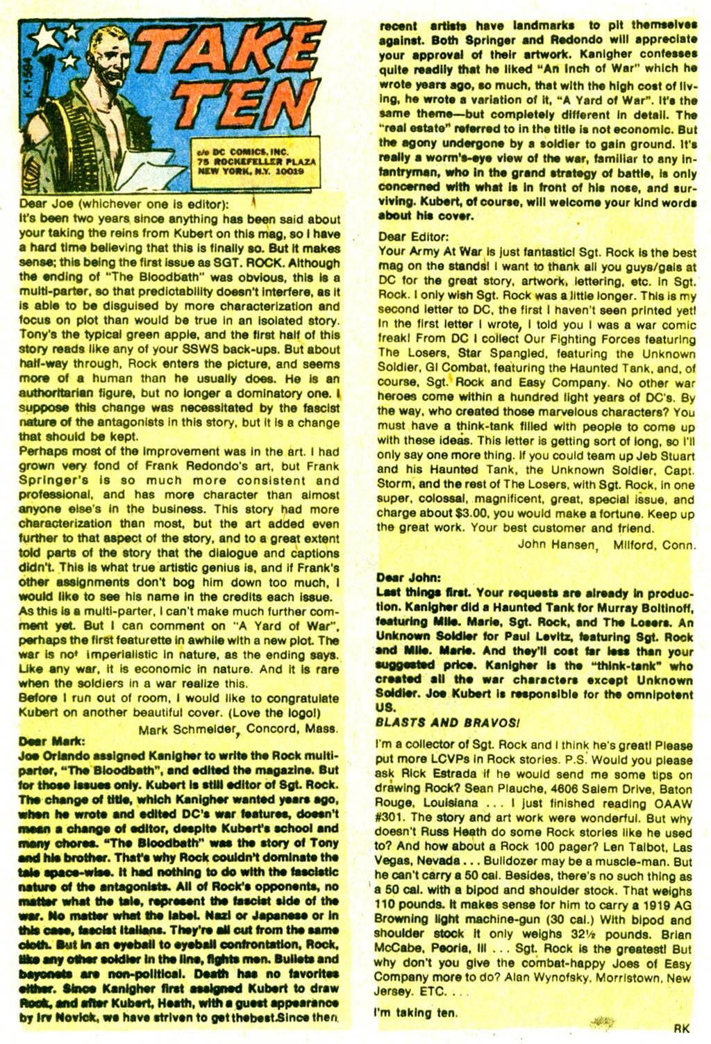 Read online Sgt. Rock comic -  Issue #311 - 31