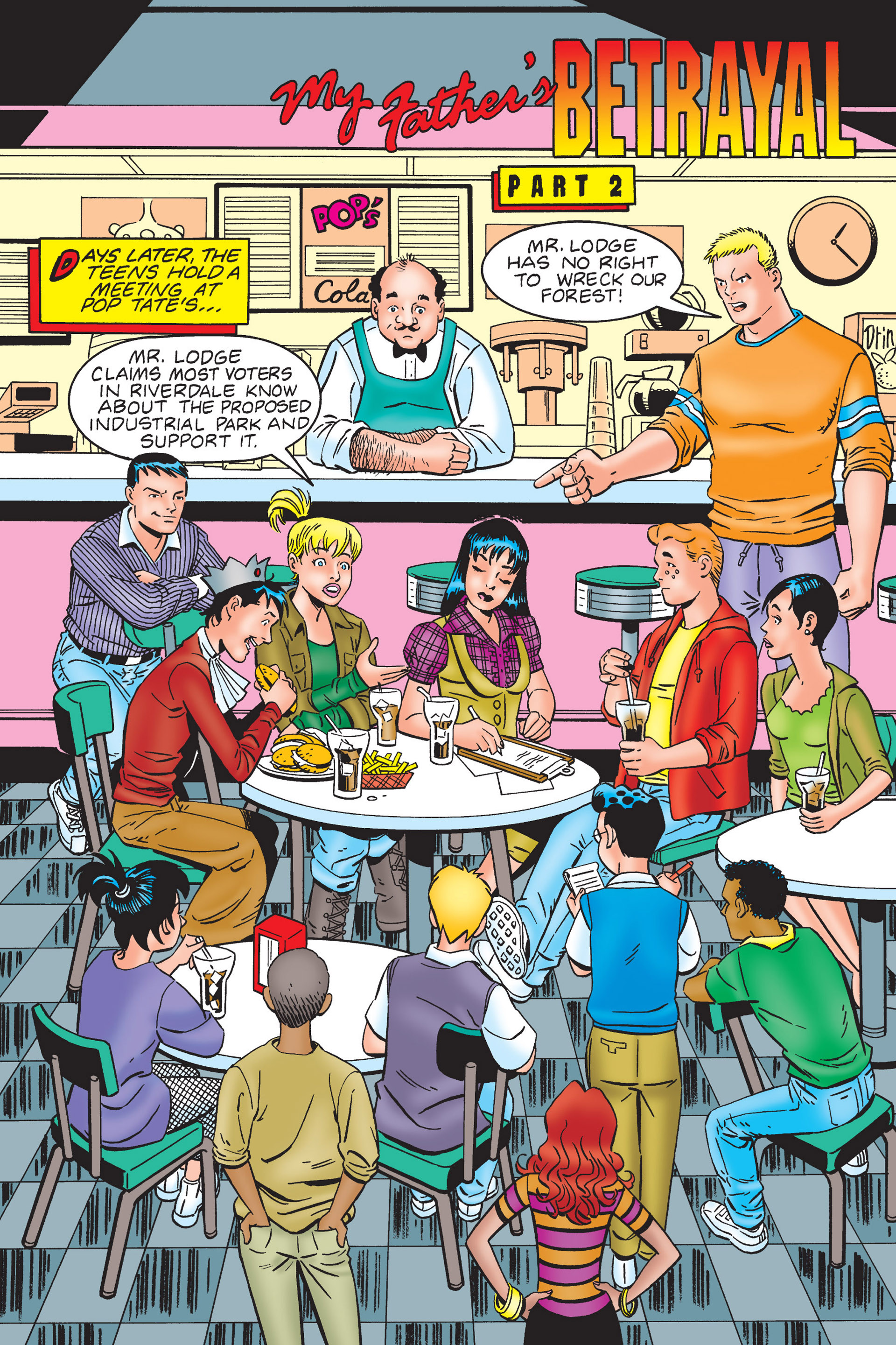Read online Archie's New Look Series comic -  Issue #4 - 31