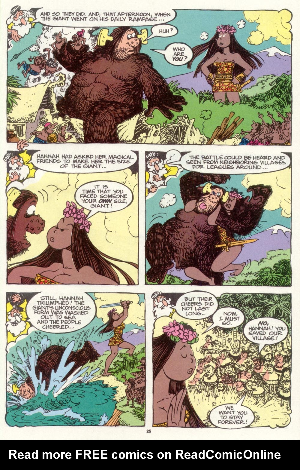 Read online Sergio Aragonés Groo the Wanderer comic -  Issue #97 - 26