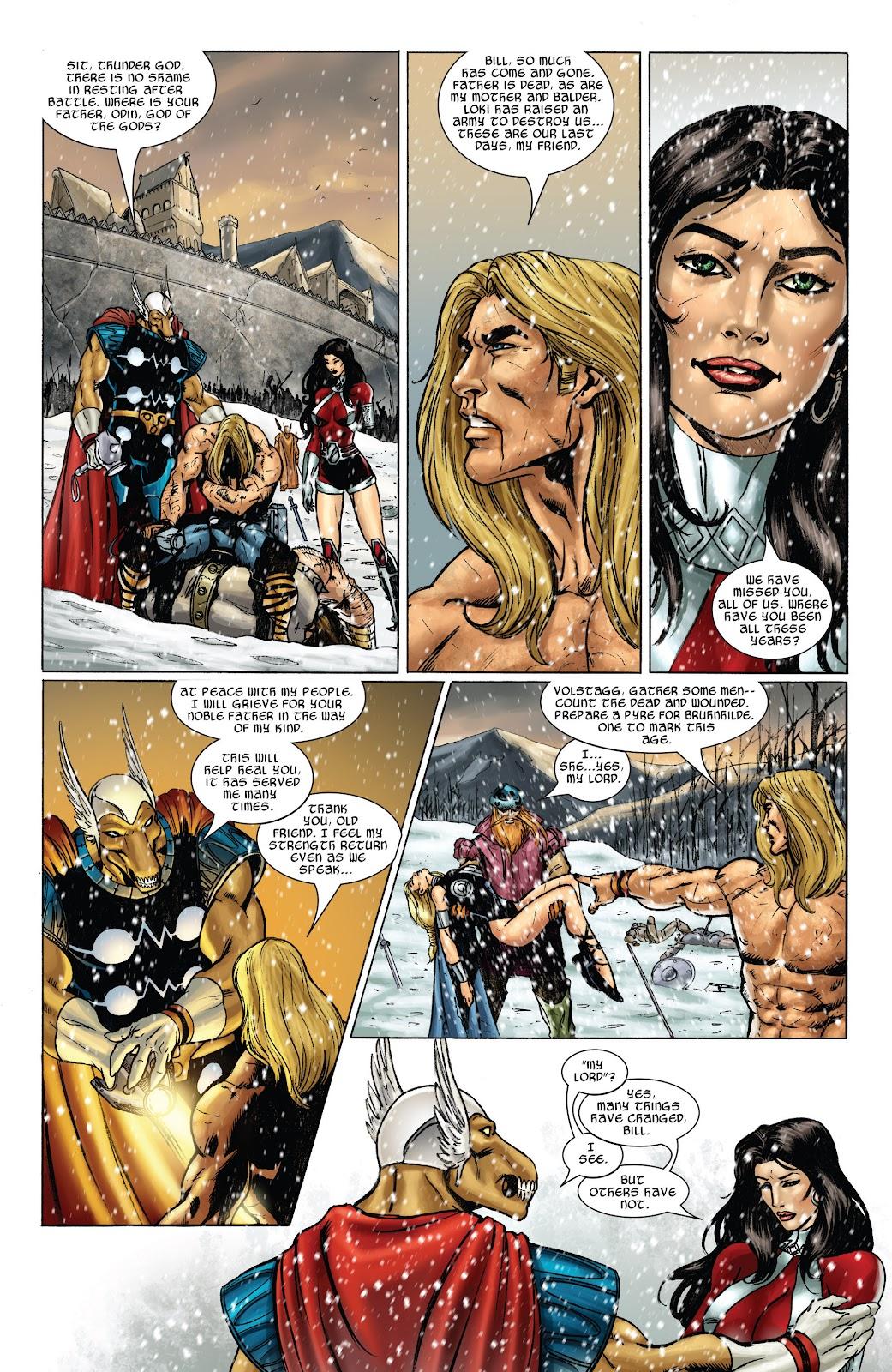 Read online Thor: Ragnaroks comic -  Issue # TPB (Part 3) - 1