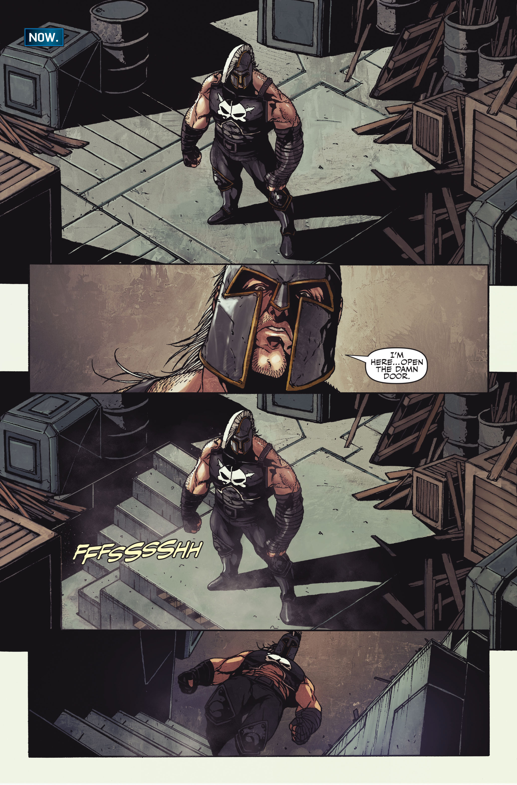 Read online Secret Warriors comic -  Issue #10 - 17