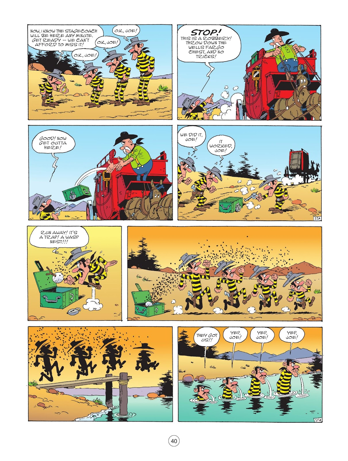 A Lucky Luke Adventure issue 72 - Page 42