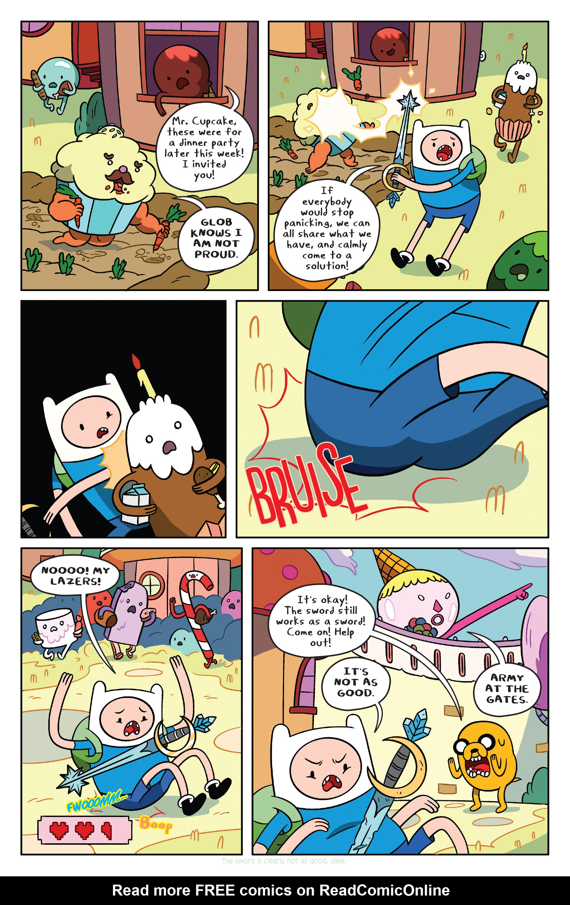 Read online Adventure Time comic -  Issue #37 - 9