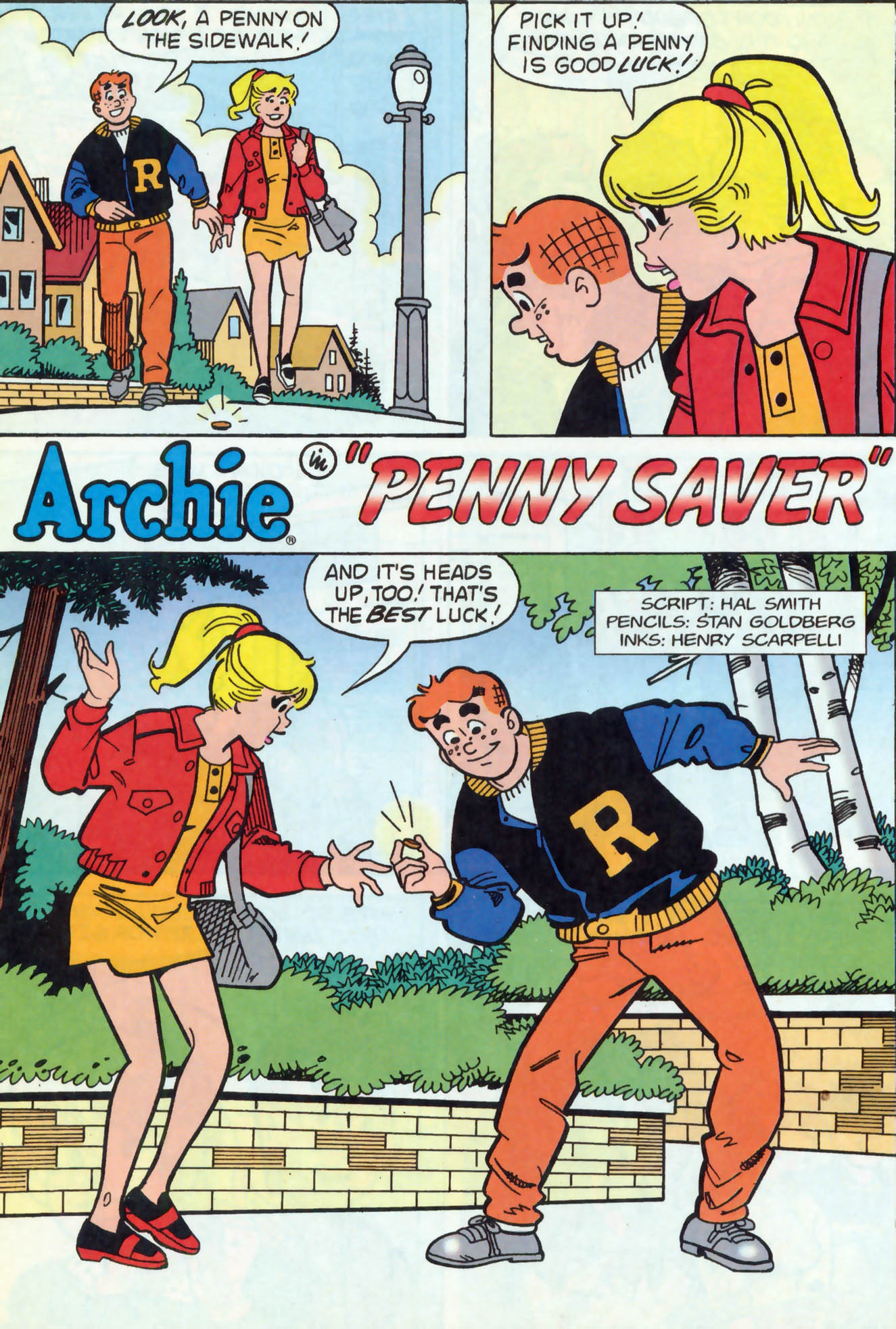 Read online Archie (1960) comic -  Issue #466 - 20