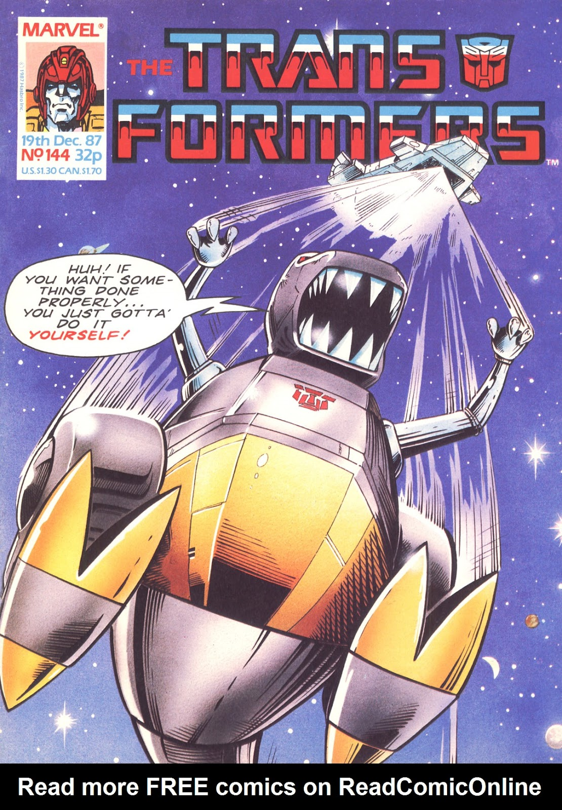 The Transformers (UK) 144 Page 1