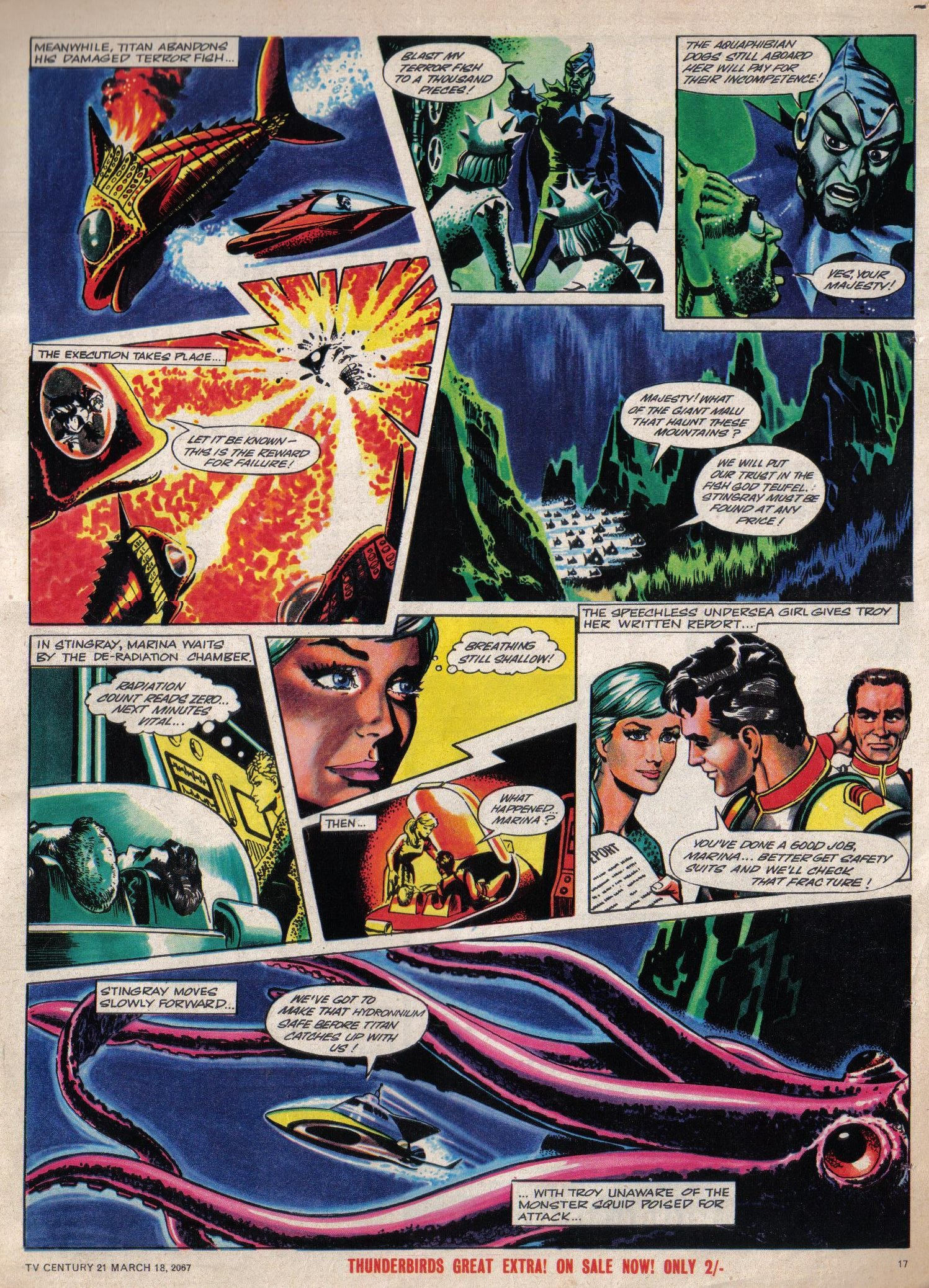 Read online TV Century 21 (TV 21) comic -  Issue #113 - 16
